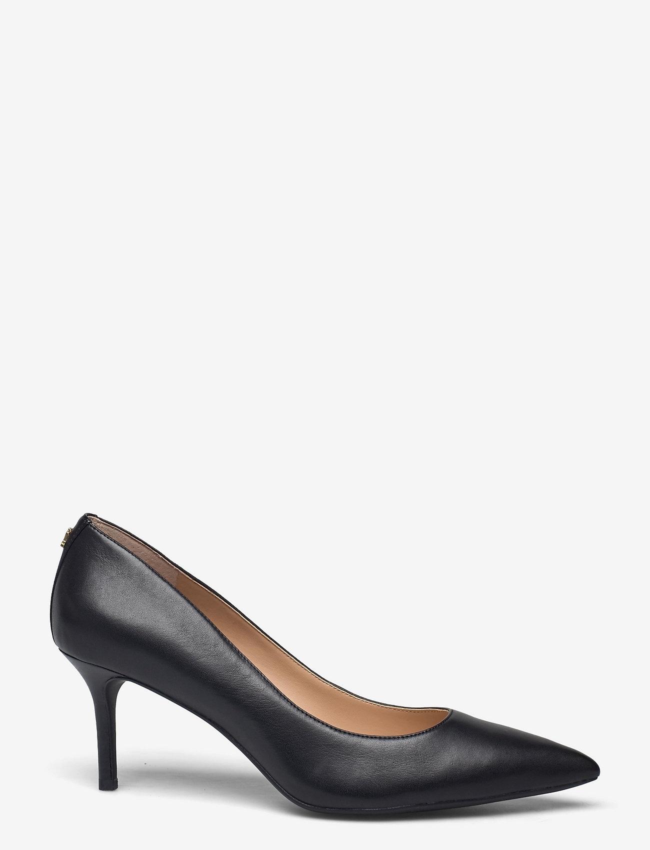 Lauren Ralph Lauren - Lanette Leather Pump - klassiske pumps - black - 1