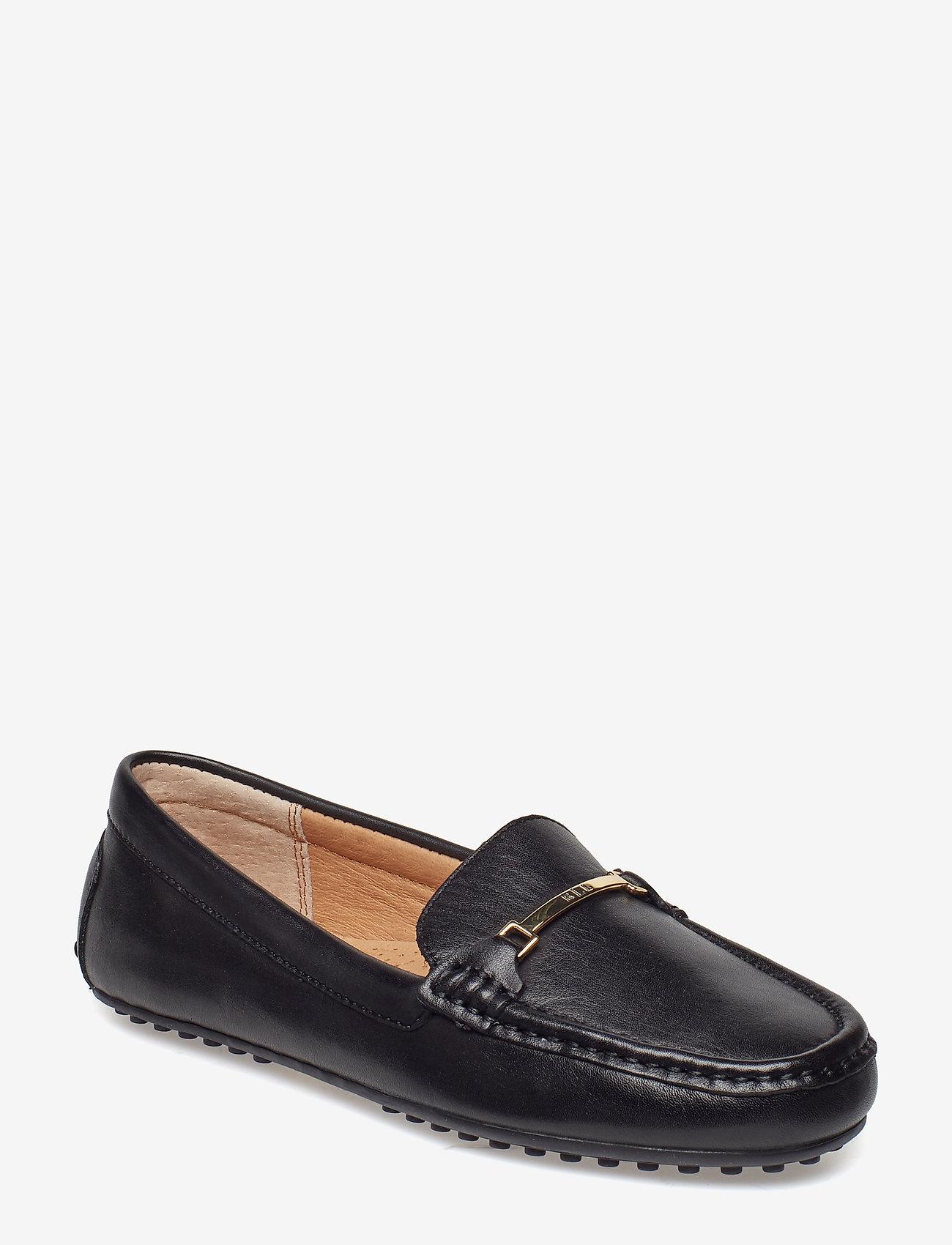 Lauren Ralph Lauren - Briony Leather Driver - loafers - black - 0