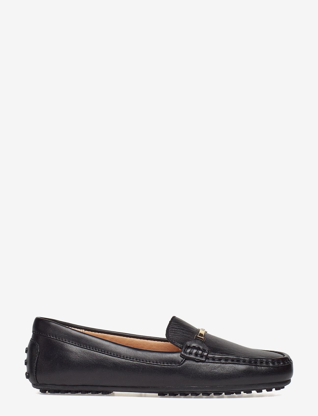 Lauren Ralph Lauren - Briony Leather Driver - loafers - black - 1