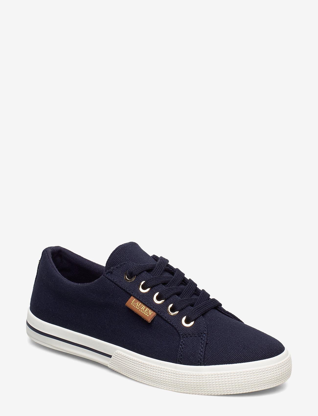 Lauren Ralph Lauren - Jaycee Canvas Sneaker - sneakersy niskie - dark midnight - 0