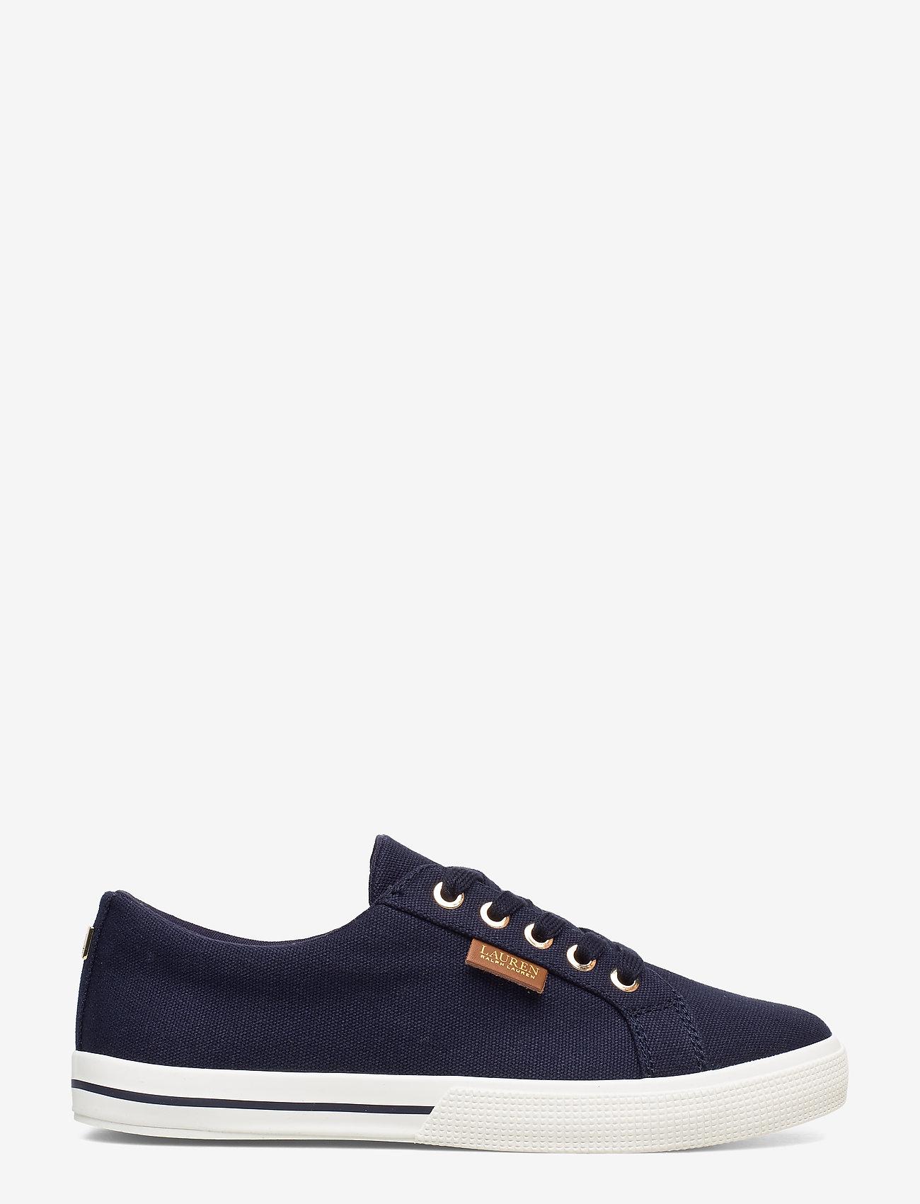 Lauren Ralph Lauren - Jaycee Canvas Sneaker - sneakersy niskie - dark midnight - 1