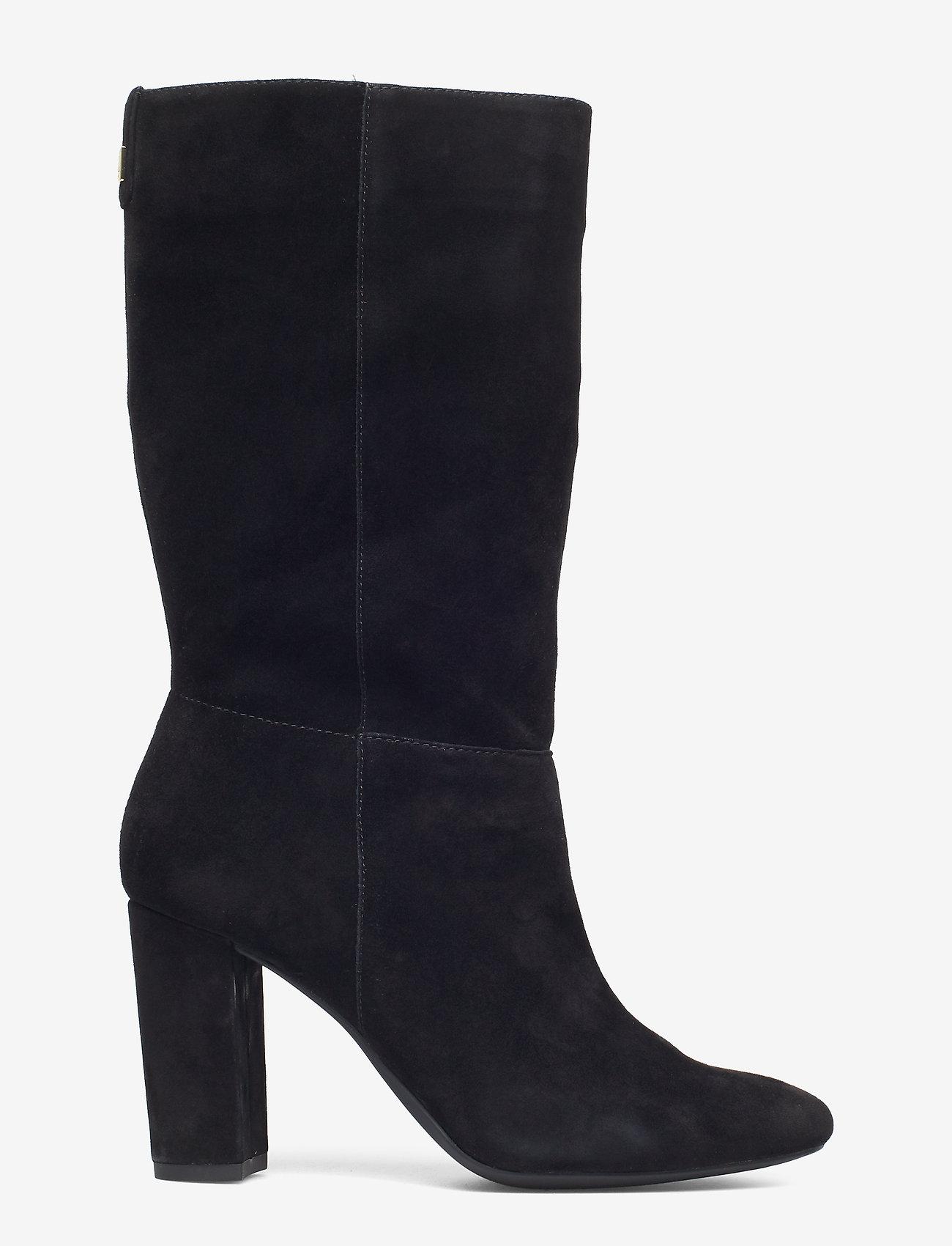 Artizan Suede Boot (Black) - Lauren Ralph Lauren Mgt7CK