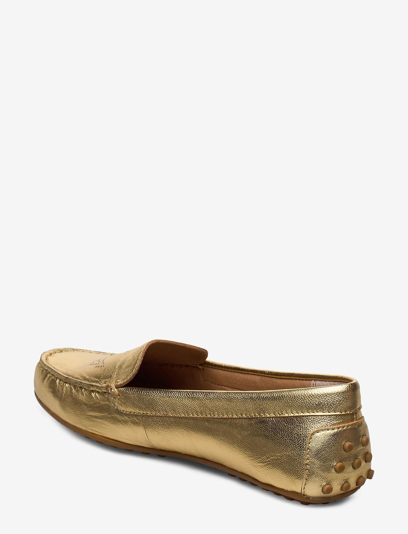 Bartlett Leather Flat (Gold Rush) - Lauren Ralph Lauren