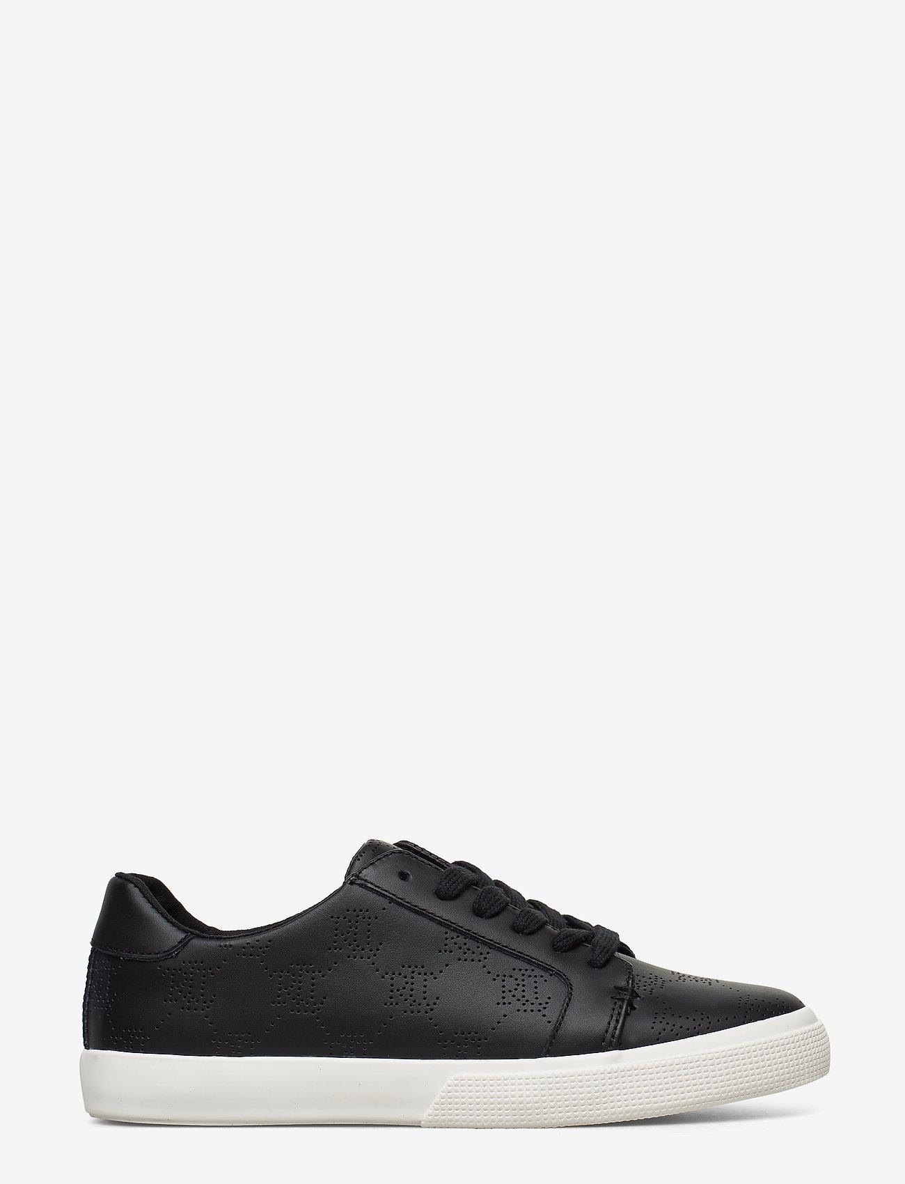 Lauren Ralph Lauren - Joslin Leather Sneaker - sneakersy niskie - black - 1