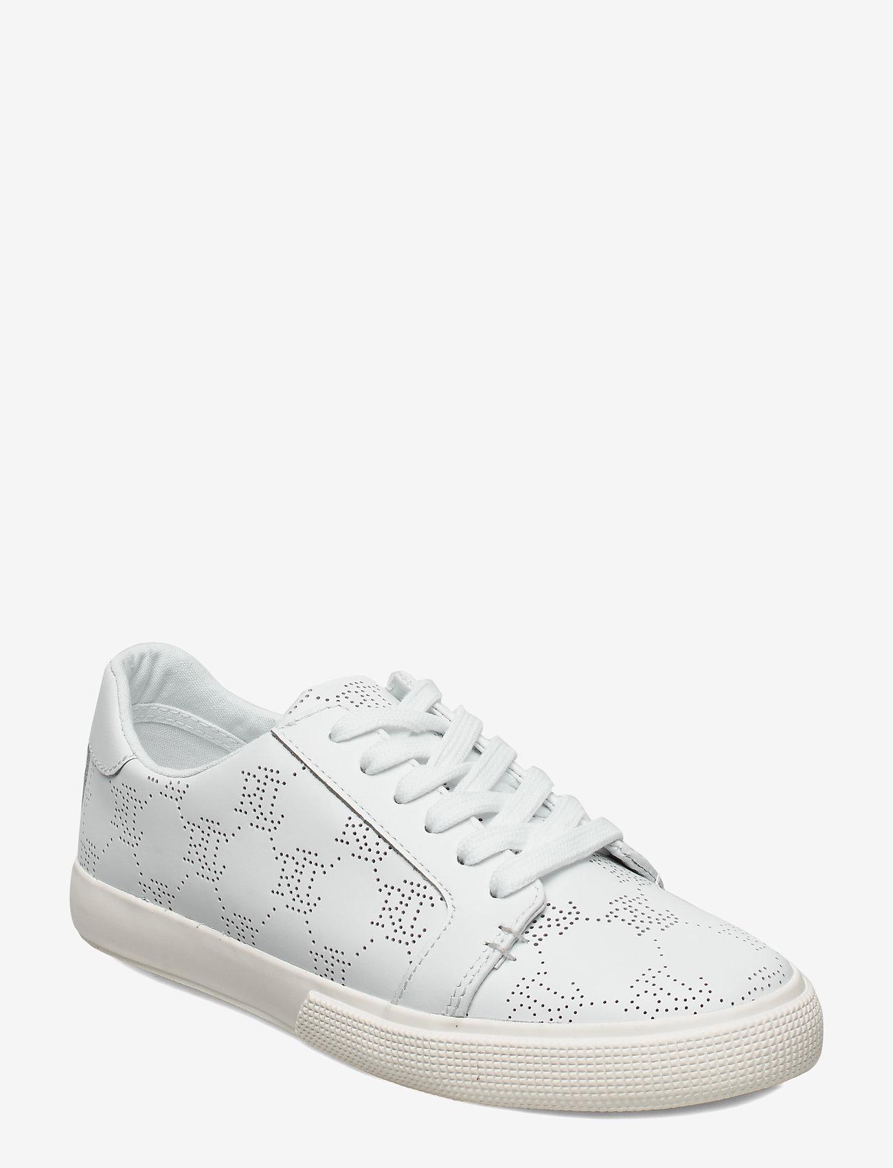 Lauren Ralph Lauren - Joslin Leather Sneaker - sneakersy niskie - rl white - 0