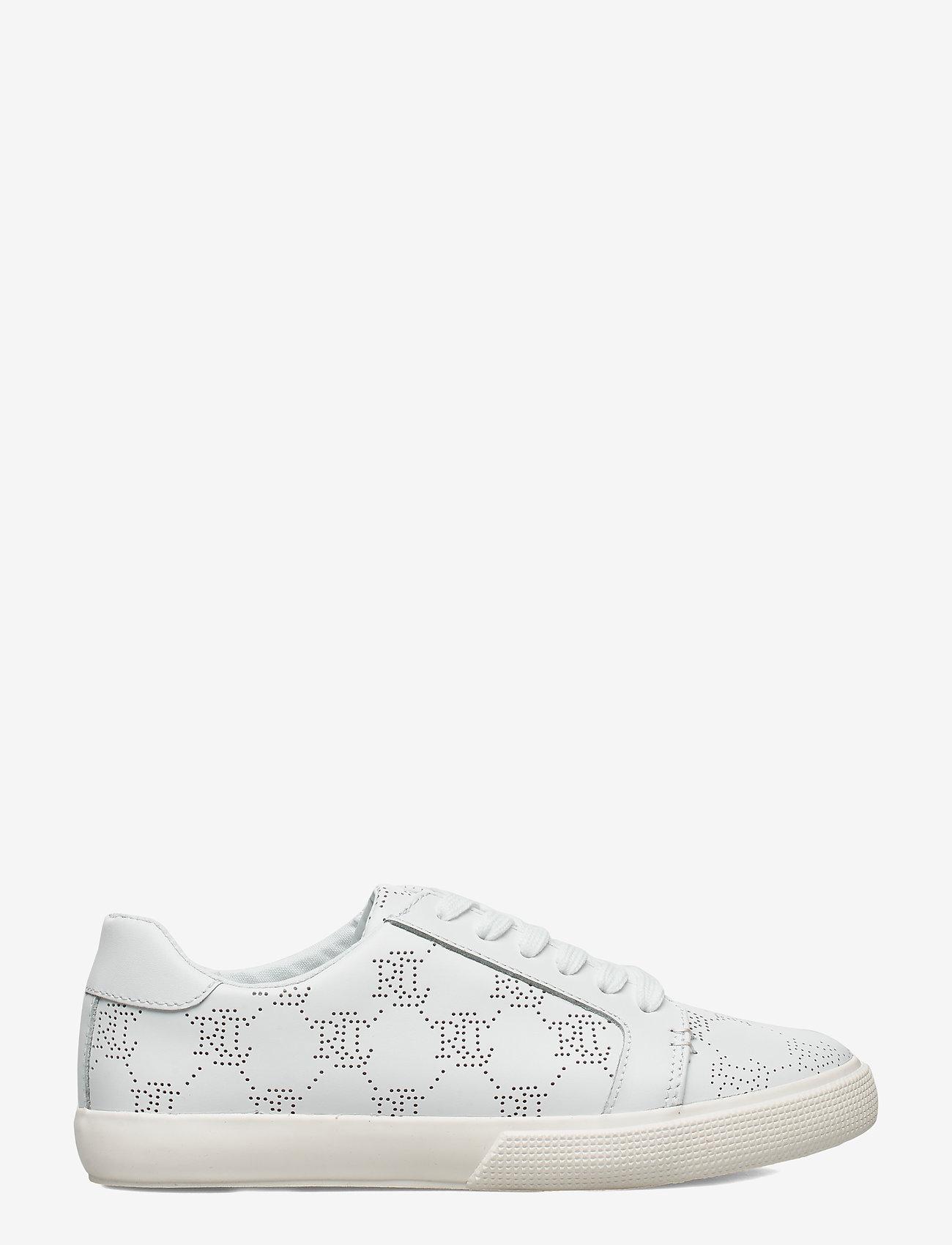 Lauren Ralph Lauren - Joslin Leather Sneaker - sneakersy niskie - rl white - 1