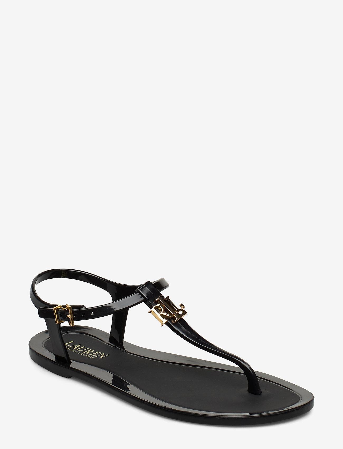 Lauren Ralph Lauren - Ashtyn Sandal - flade sandaler - black - 0
