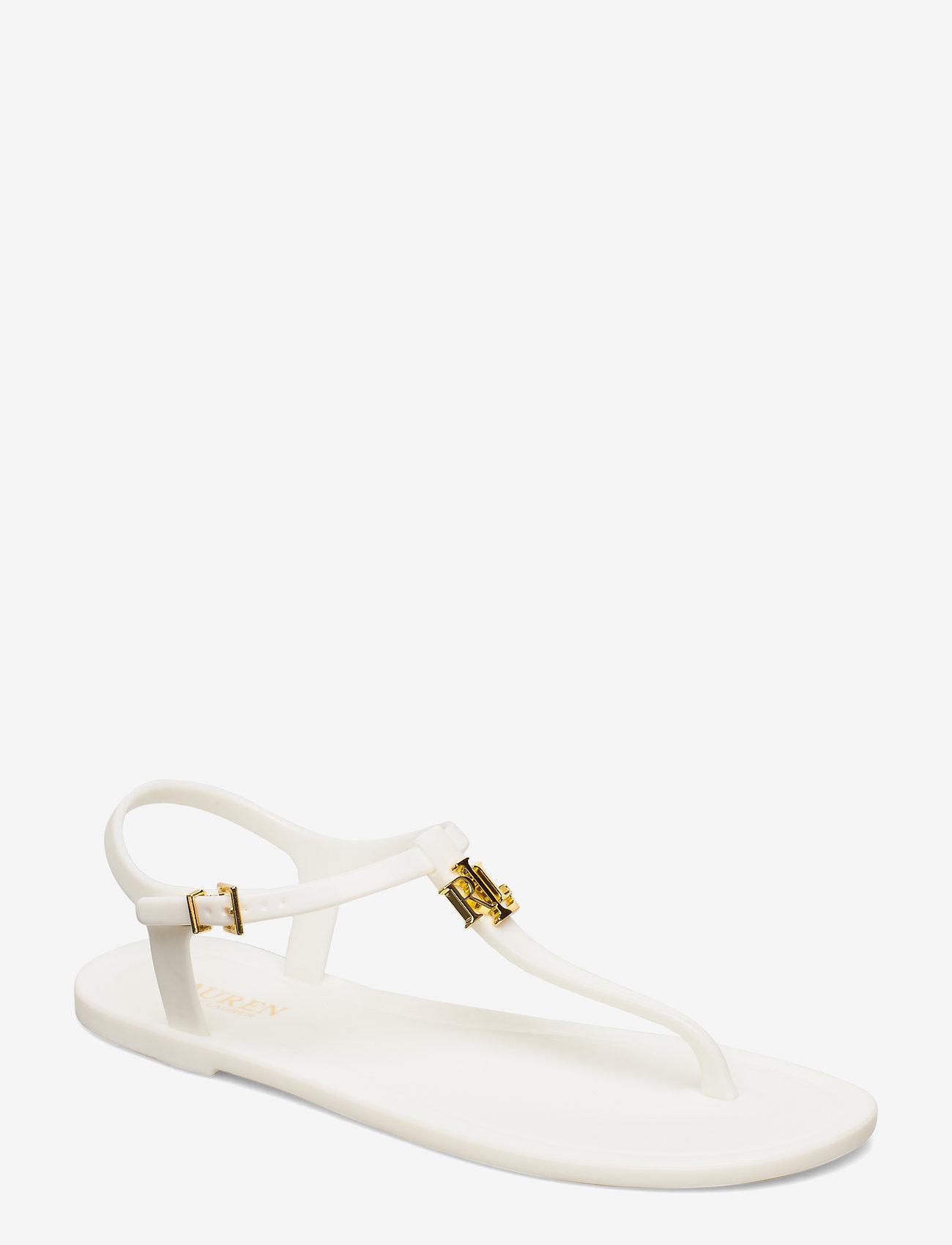 Lauren Ralph Lauren - Ashtyn Sandal - flade sandaler - optic white - 0