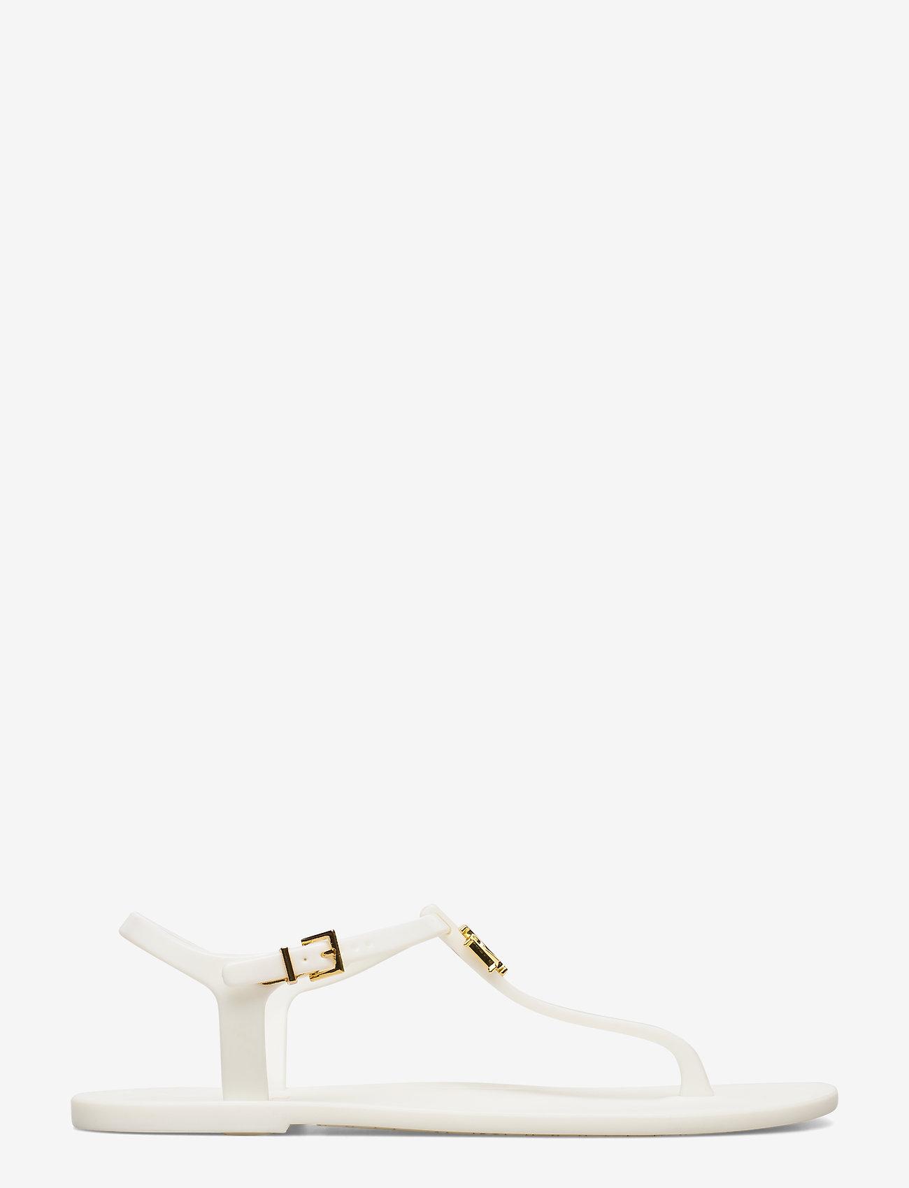 Lauren Ralph Lauren - Ashtyn Sandal - flade sandaler - optic white - 1
