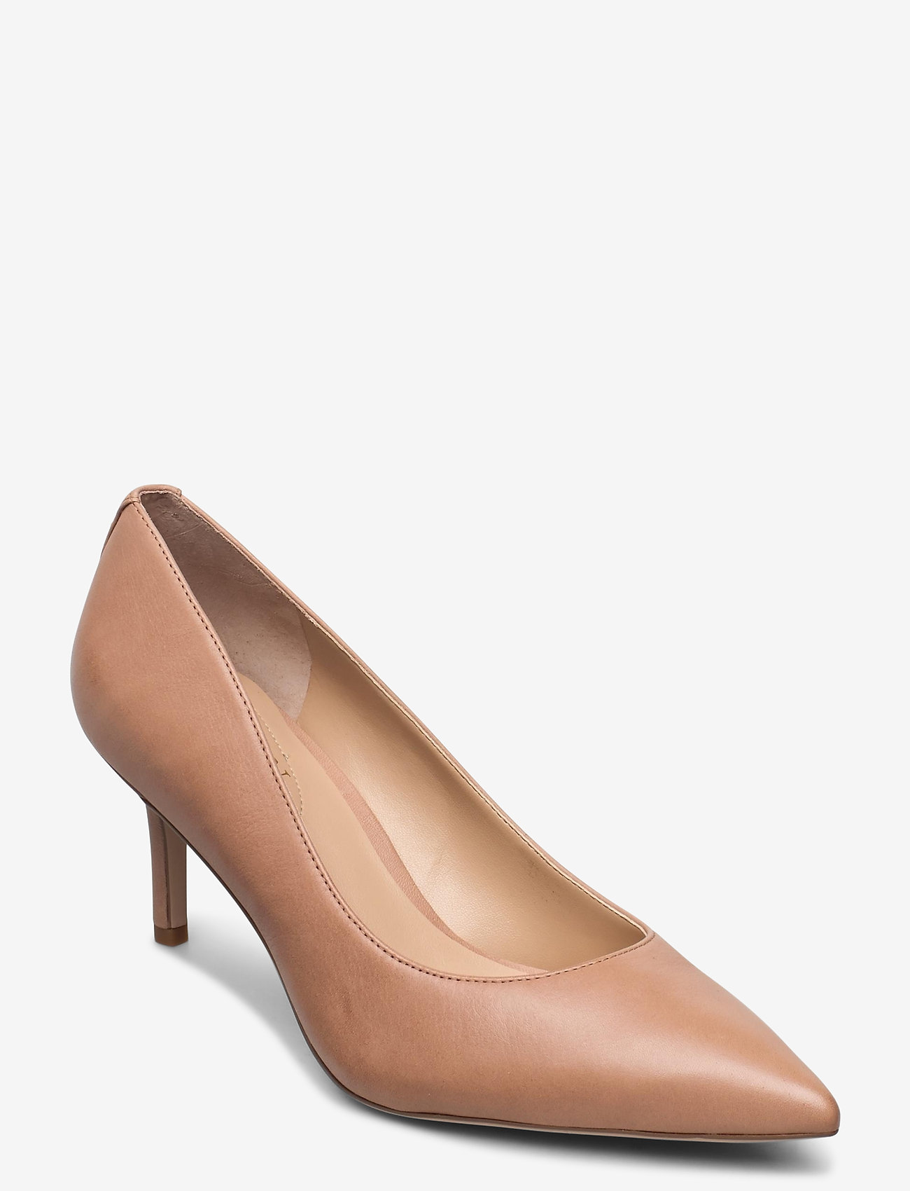 Lanette Leather Pump (Nude) (87.96