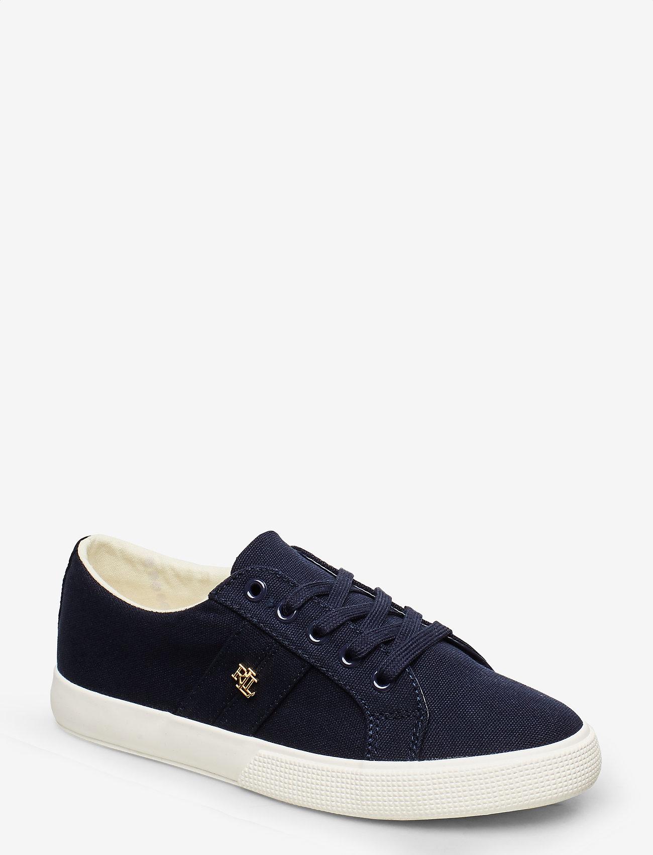 Lauren Ralph Lauren - Janson II Canvas Sneaker - sneakers med lav ankel - lauren navy - 0