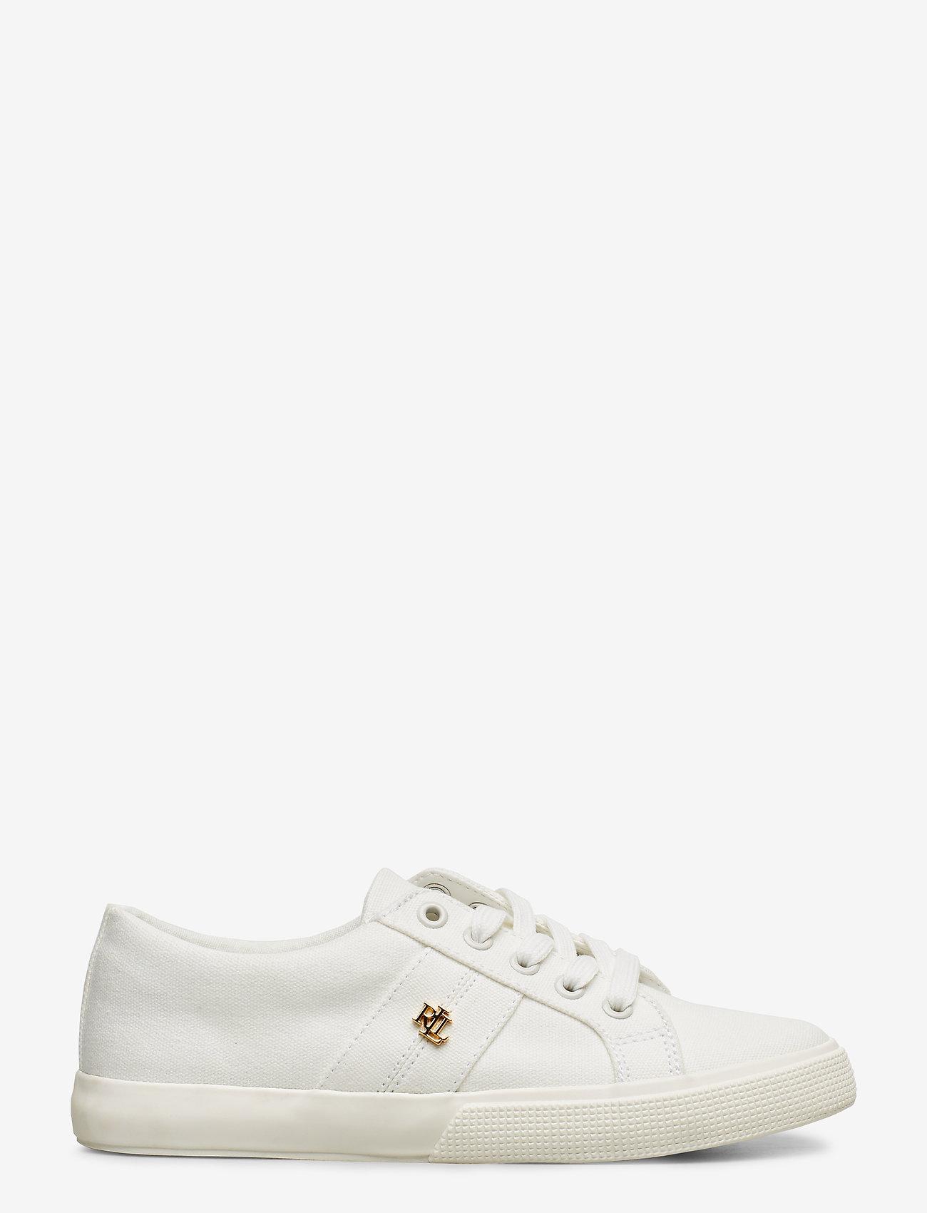 Lauren Ralph Lauren - Janson II Canvas Sneaker - lave sneakers - optic white - 1