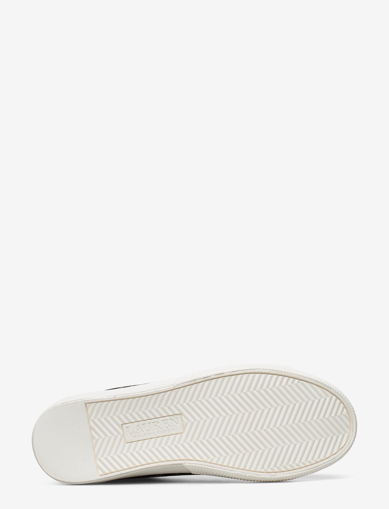 Jaycee Canvas Sneaker (Black Heritage Lo) (449.25 kr) - Lauren Ralph Lauren