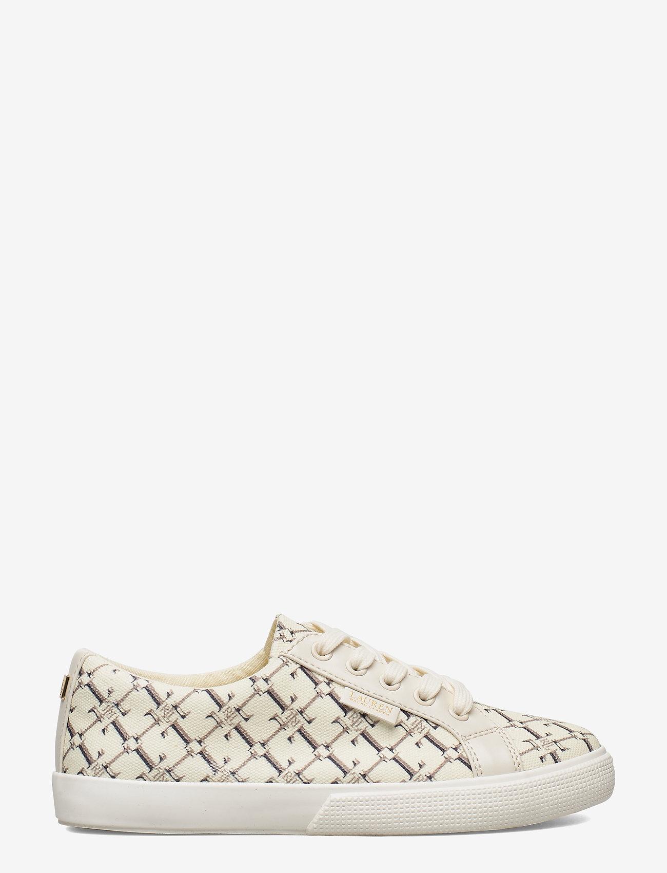 Lauren Ralph Lauren - Jaycee Canvas Sneaker - sneakersy niskie - vanilla heritage - 1