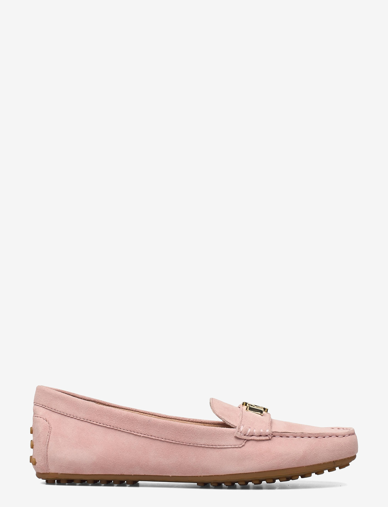 Lauren Ralph Lauren - Barnsbury Suede Loafer - loafers - dusty pink - 1