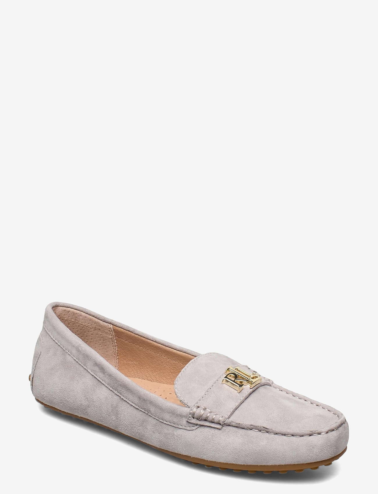 Lauren Ralph Lauren - Barnsbury Suede Loafer - loafers - light grey - 0
