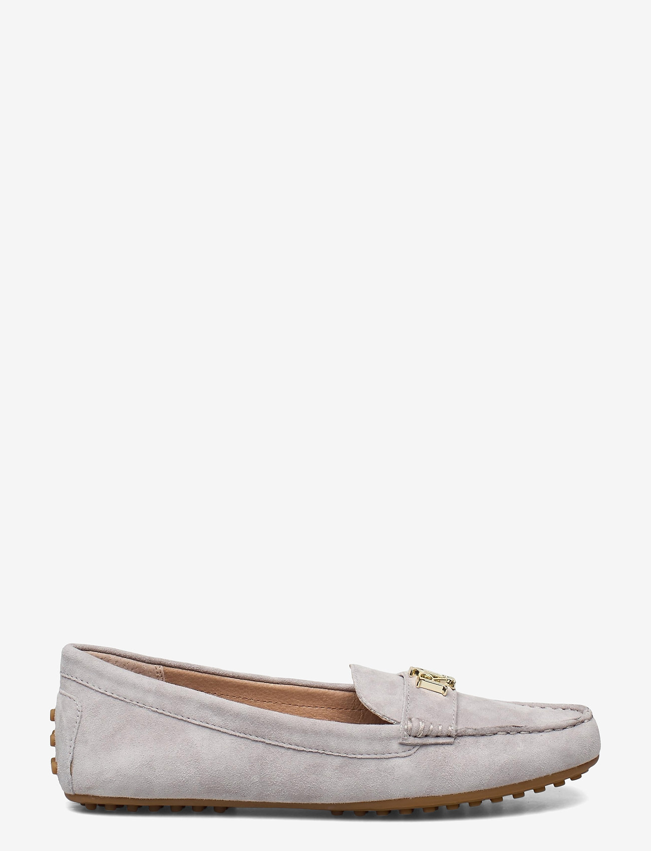 Lauren Ralph Lauren - Barnsbury Suede Loafer - loafers - light grey - 1