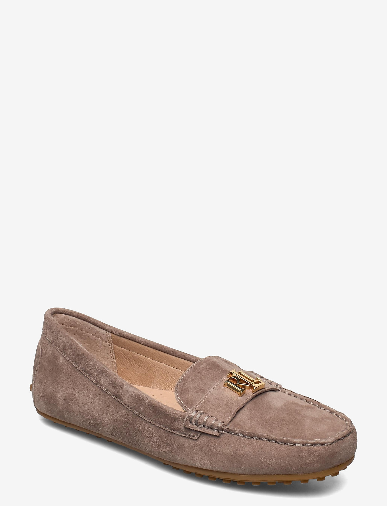 Lauren Ralph Lauren - Barnsbury Suede Loafer - loafers - truffle - 0