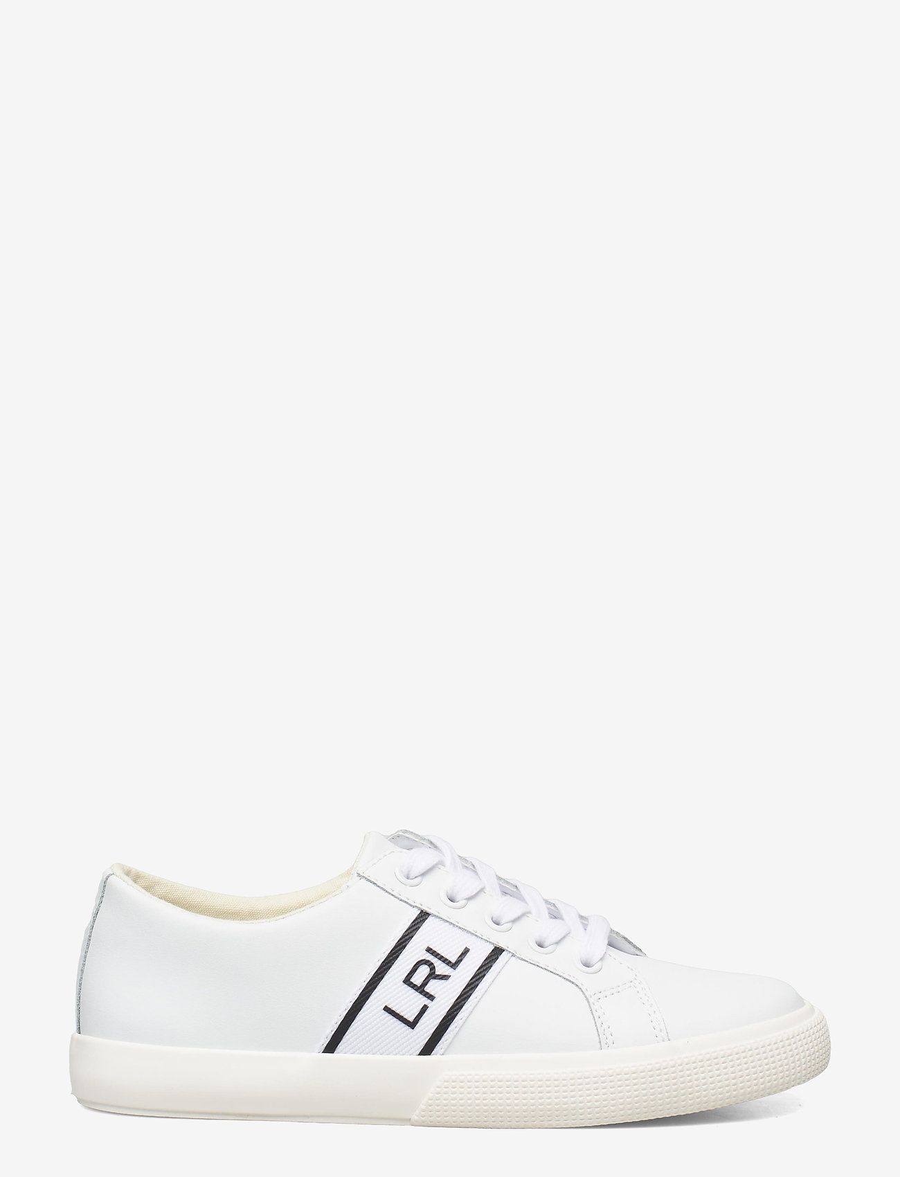 Lauren Ralph Lauren - Janson II Action Leather Sneaker - lave sneakers - rl white - 1