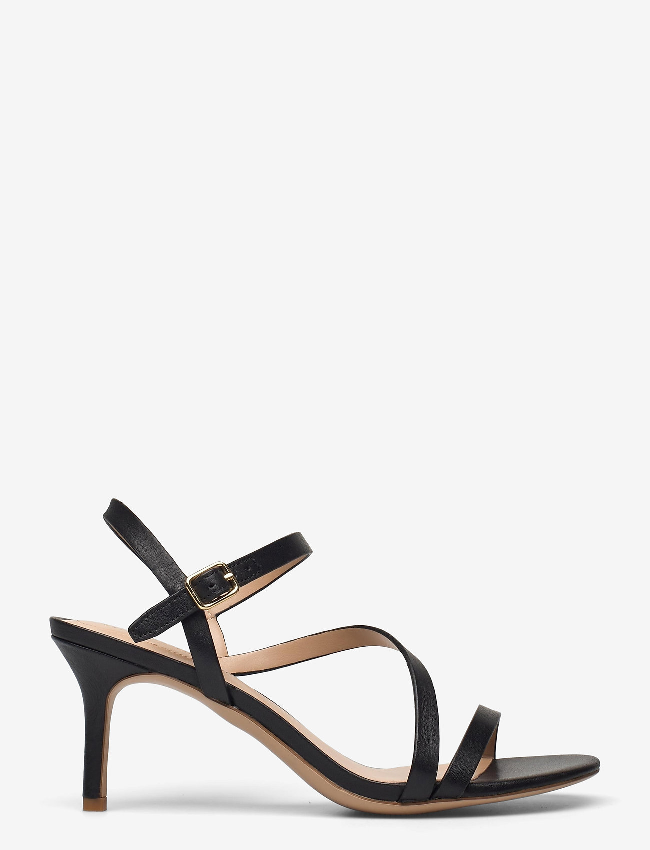 Lauren Ralph Lauren - Landyn Nappa Leather Sandal - brudesko - black - 1