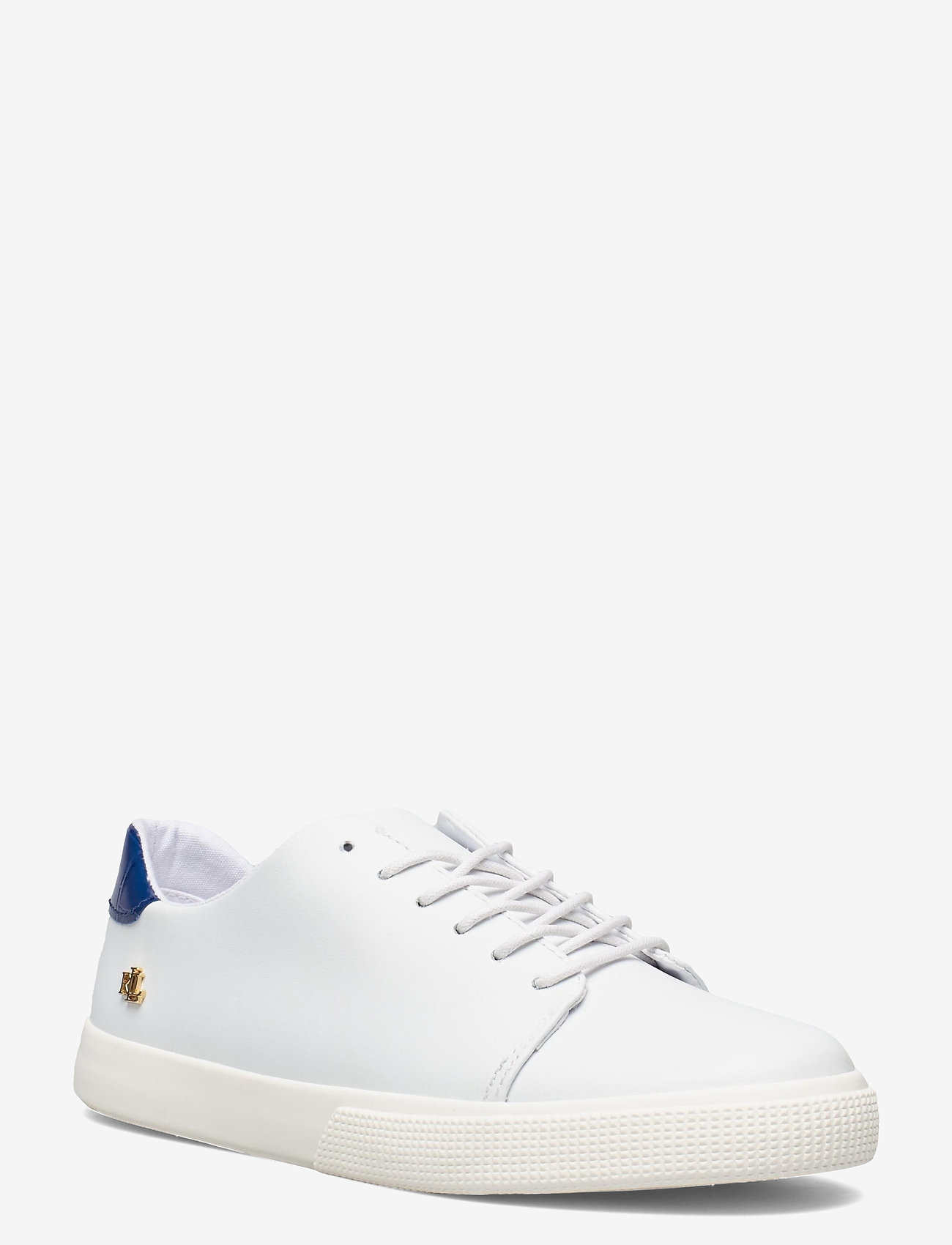 Lauren Ralph Lauren - Joana III Action Leather Sneaker - lave sneakers - rl white/pacific - 0