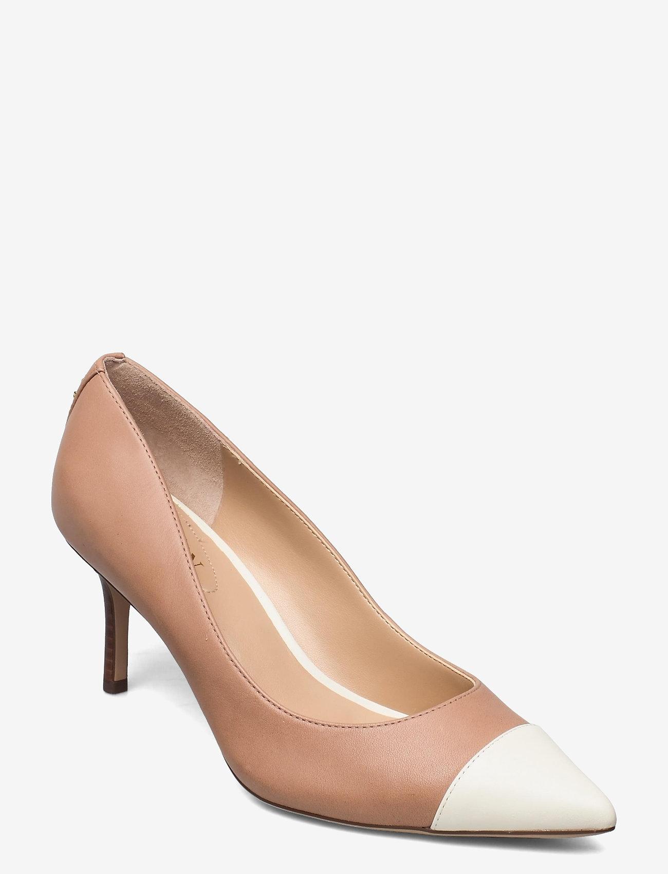 Lauren Ralph Lauren - Lanette Leather Pump - klassiske pumps - nude/vanilla - 0