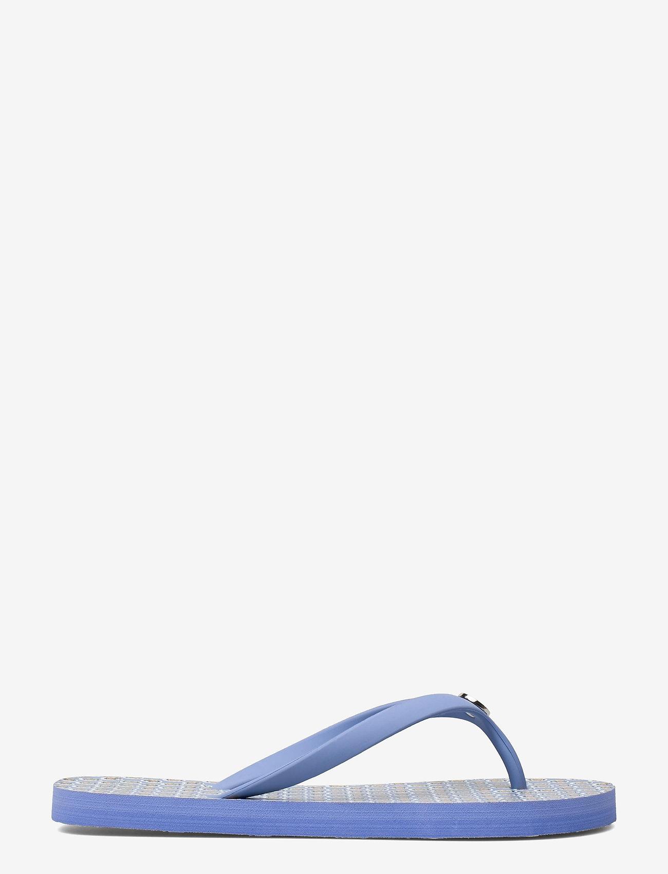 Lauren Ralph Lauren - Shawna Floral Sandal - teenslippers - blue - 1