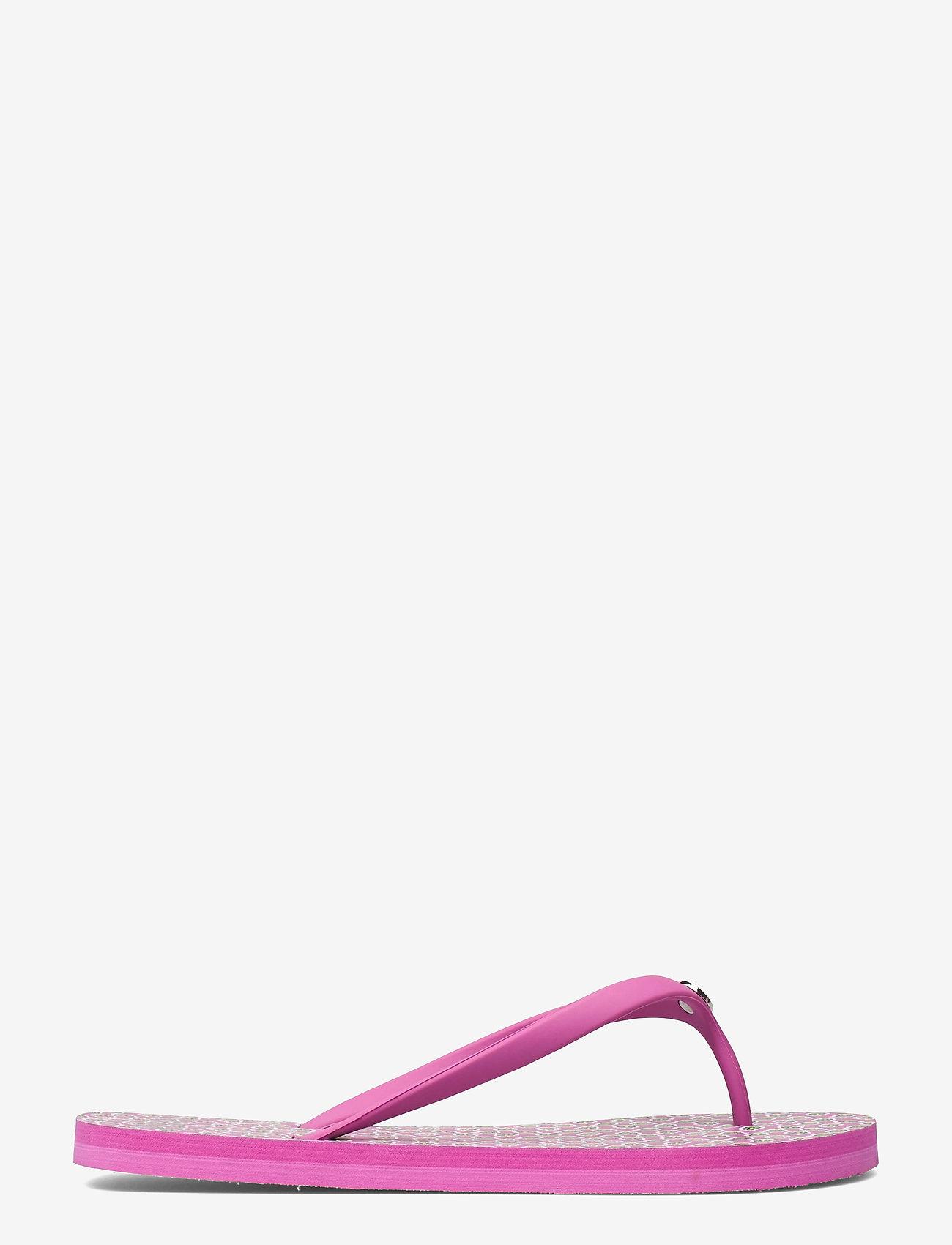 Lauren Ralph Lauren - Shawna Paisley Sandal - teenslippers - pink - 1