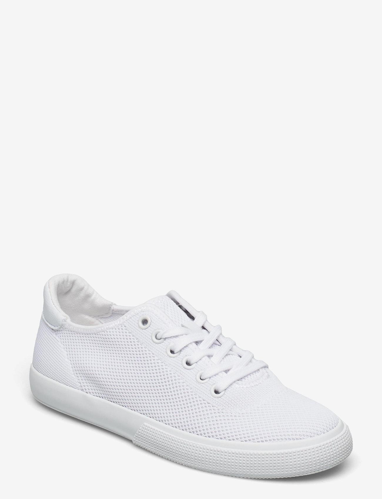 Lauren Ralph Lauren - Jaylin Microfiber Sneaker - lave sneakers - optic white - 1