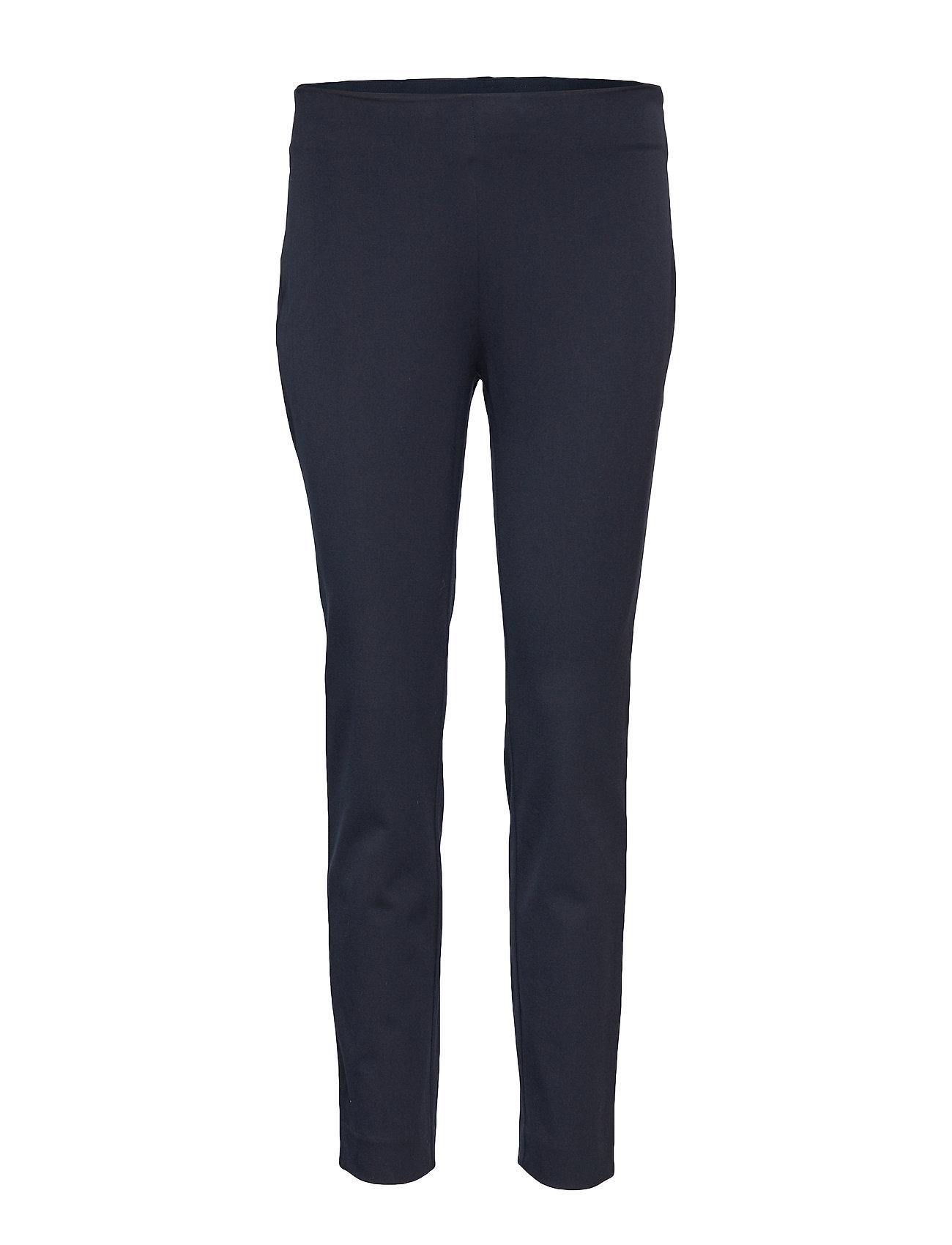 Lauren Ralph Lauren Twill Skinny Pant - LAUREN NAVY