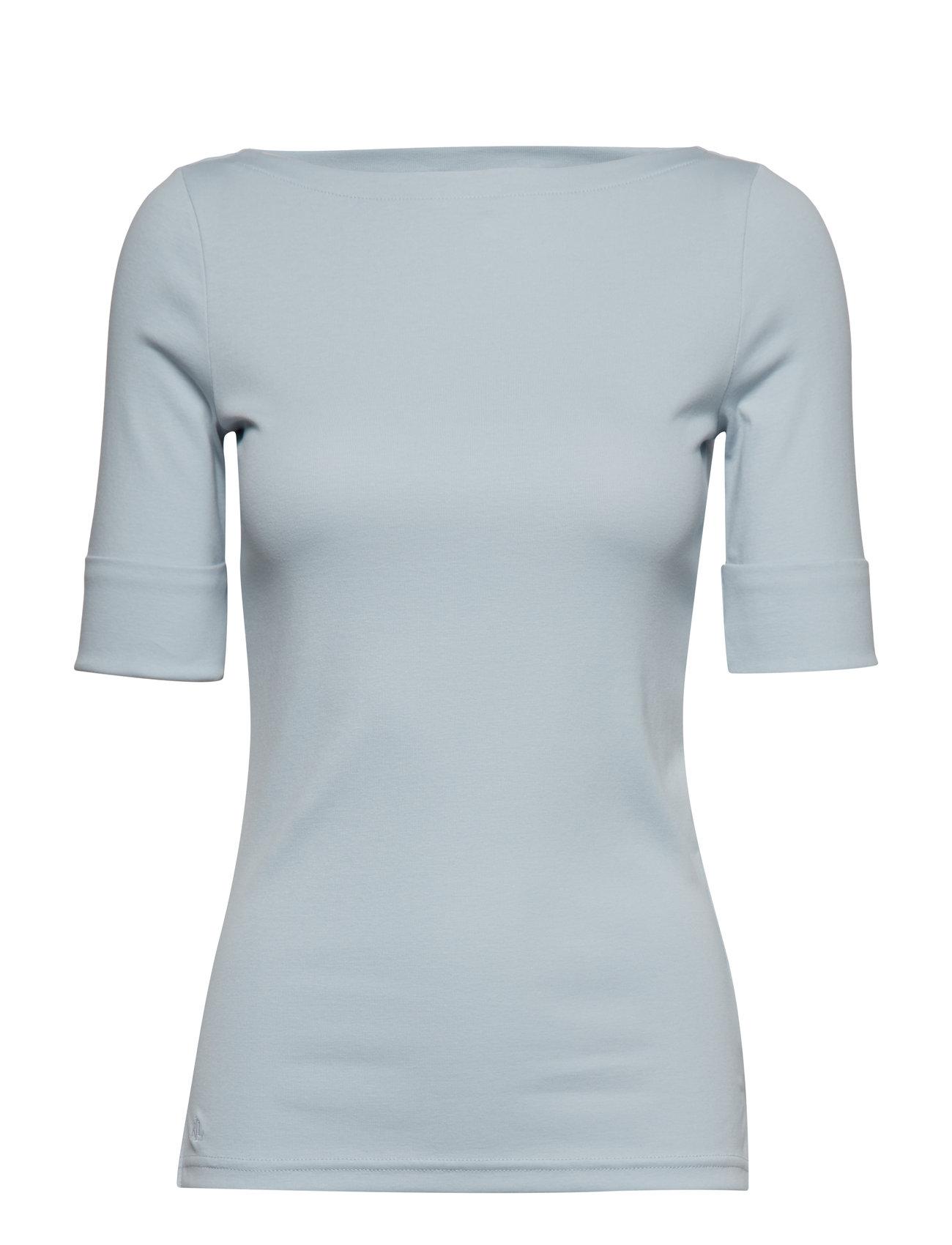Lauren Ralph Lauren Cotton Boatneck T-Shirt