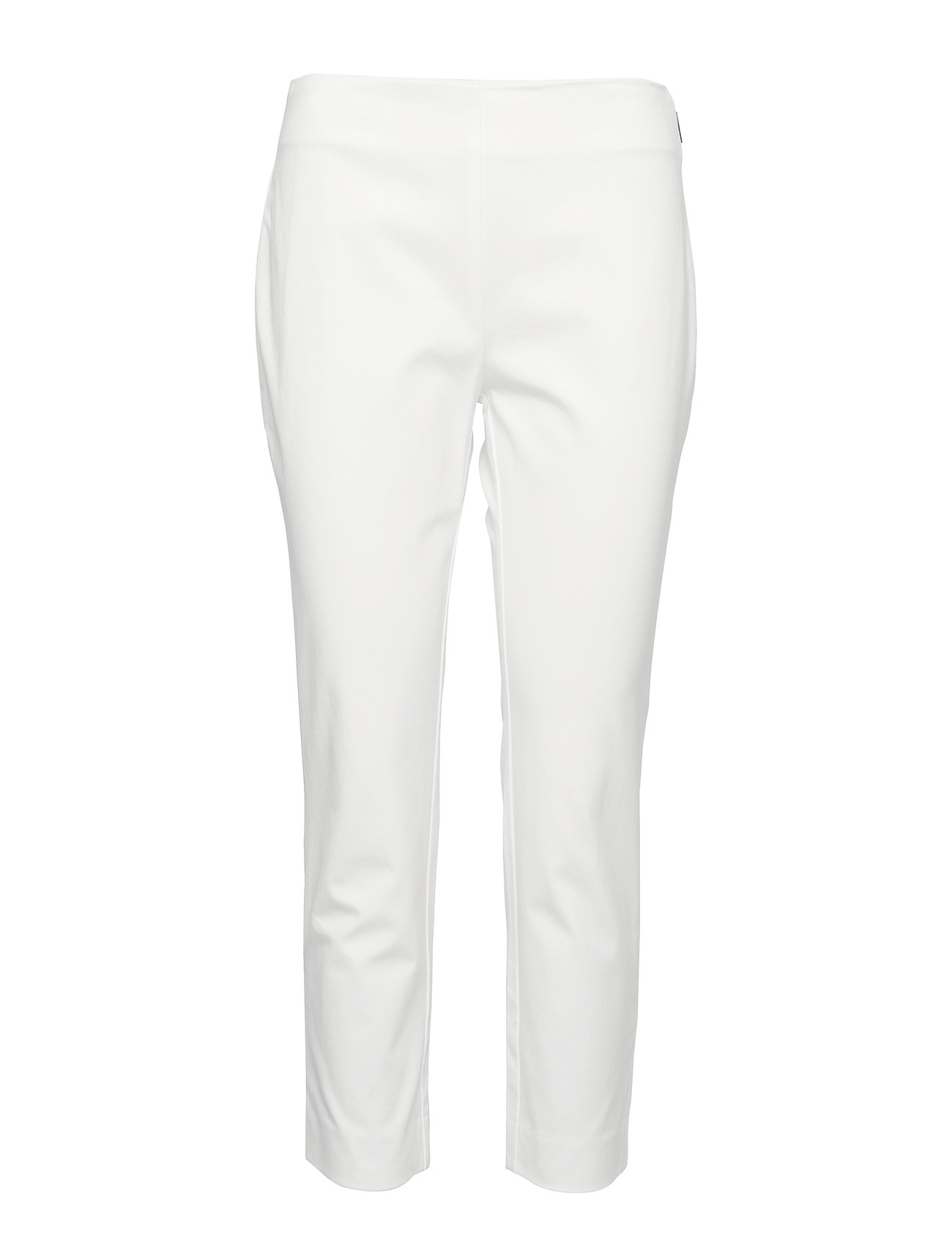 Lauren Ralph Lauren Twill Skinny Pant - WHITE