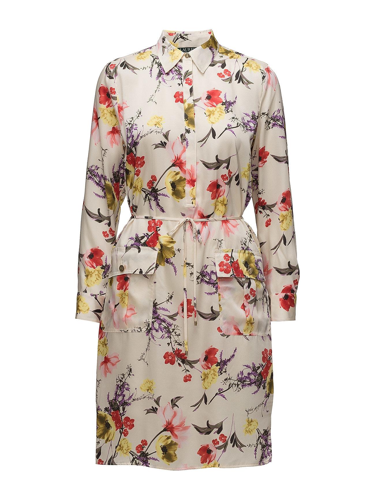 Lauren Ralph Lauren Floral Twill Utility Dress - MULTI