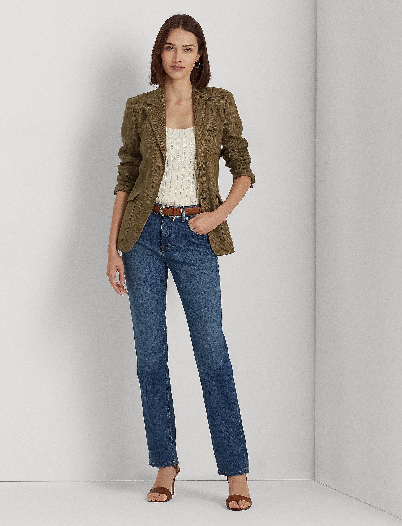 Lauren Ralph Lauren - Premier Straight Jean - jeans droites - ocean blue wash d - 0