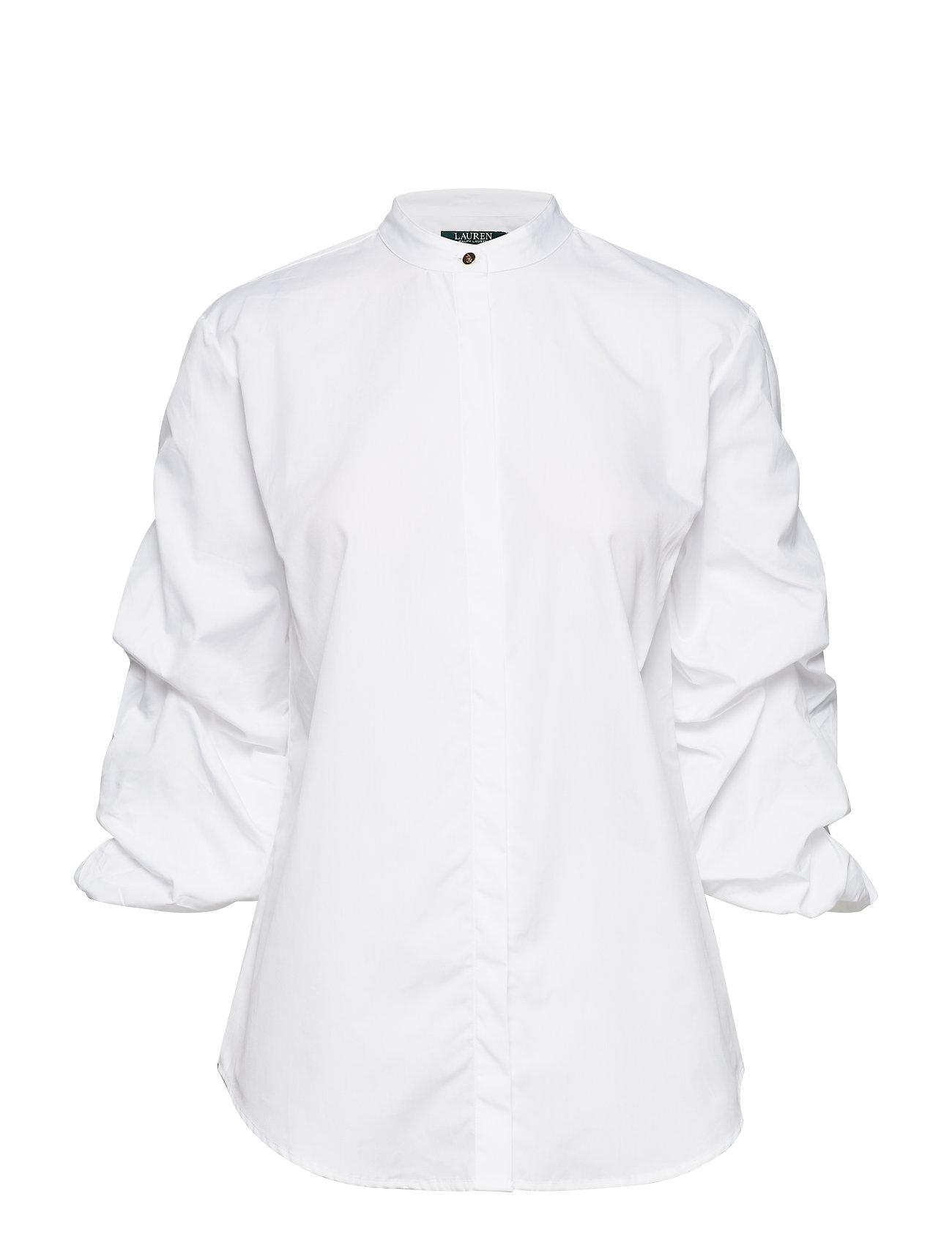 Lauren Ralph Lauren Cotton Puff-Sleeve Shirt