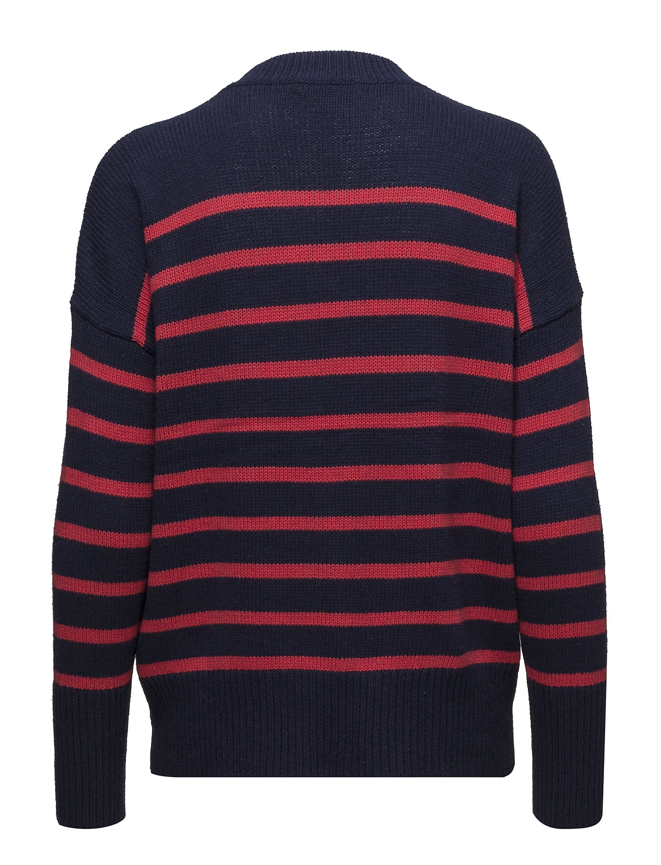 Ralph Striped blend crimsonLauren Cotton Sweaternavy UpzSqMV