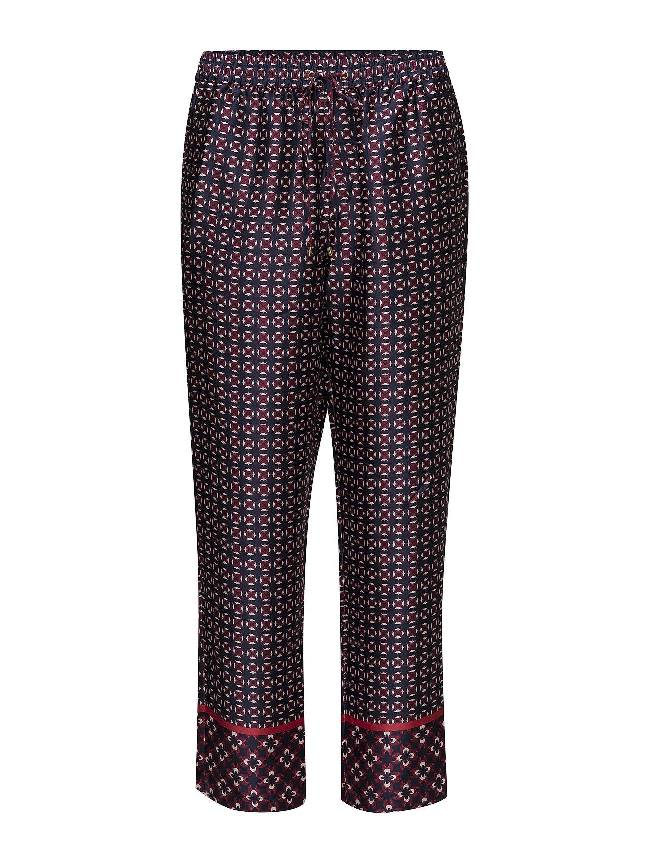 Lauren Ralph Lauren Geometric-Print Twill Pant - MULTI