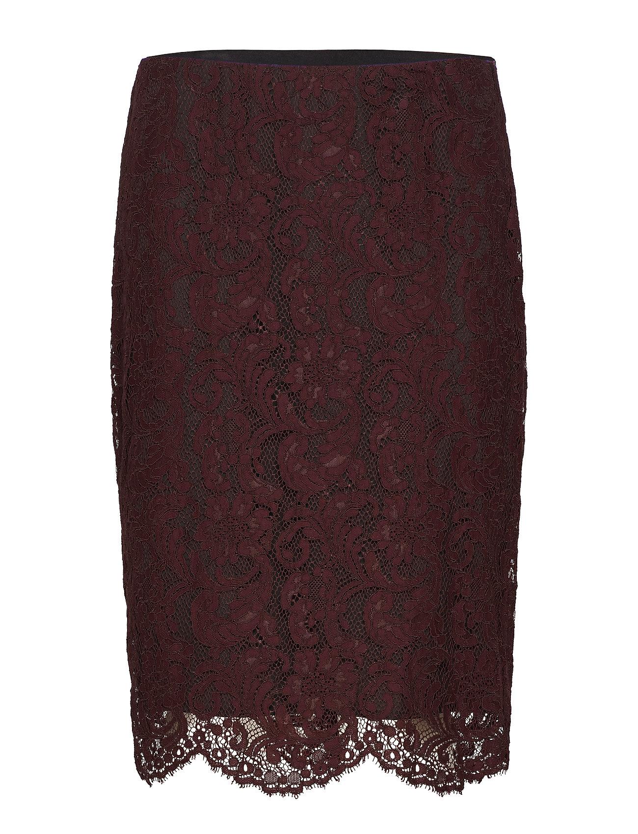 Lauren Ralph Lauren Scalloped Lace Skirt Kjolar