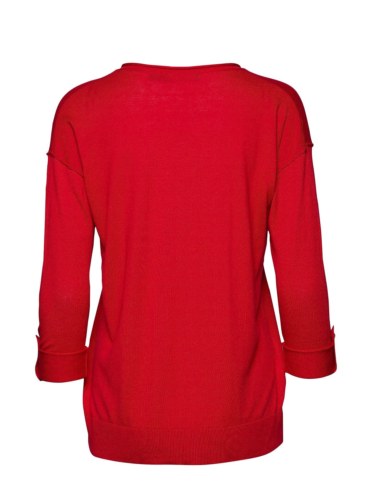 Silk Sweaterlipstick sleeve Tab Ralph RedLauren blend BxrWdCoQe