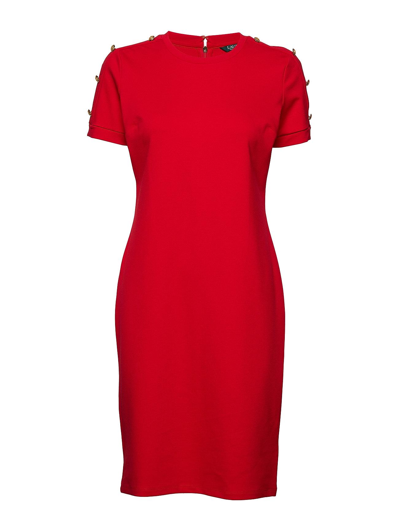 Lauren Ralph Lauren Button Shoulder Ponte Dress Klänningar