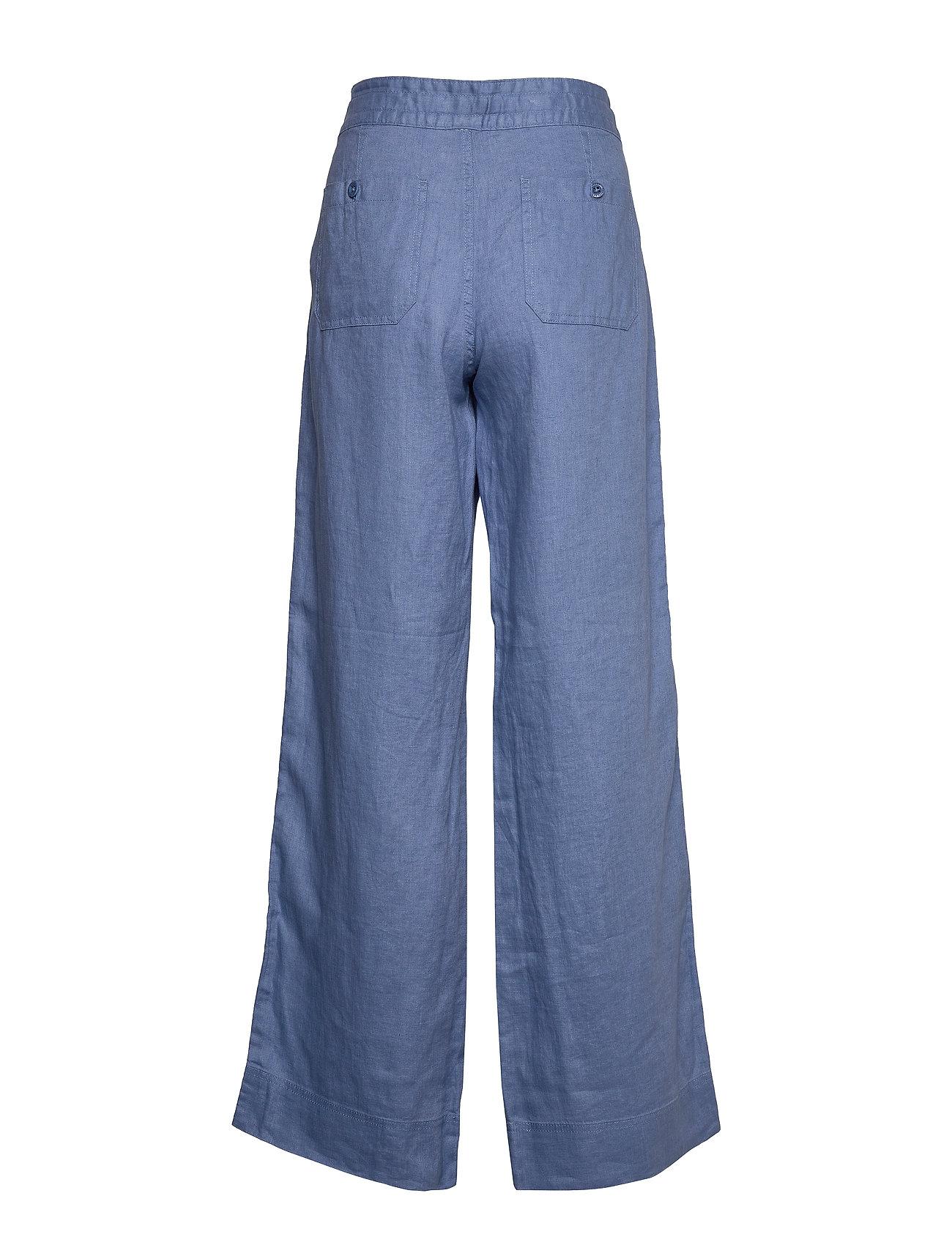 Lauren Ralph Lauren Linen Wide-leg Pant (Dark Sage), 824.25