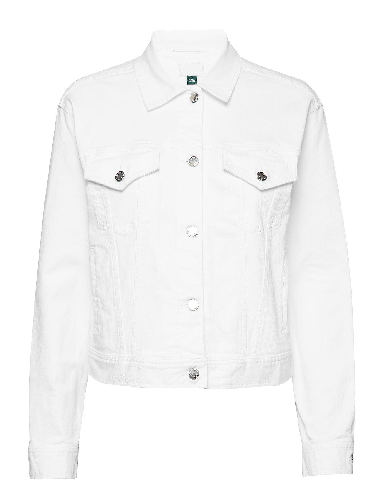 Lauren Ralph Lauren Denim Jacket - CRISP WHITE WASH