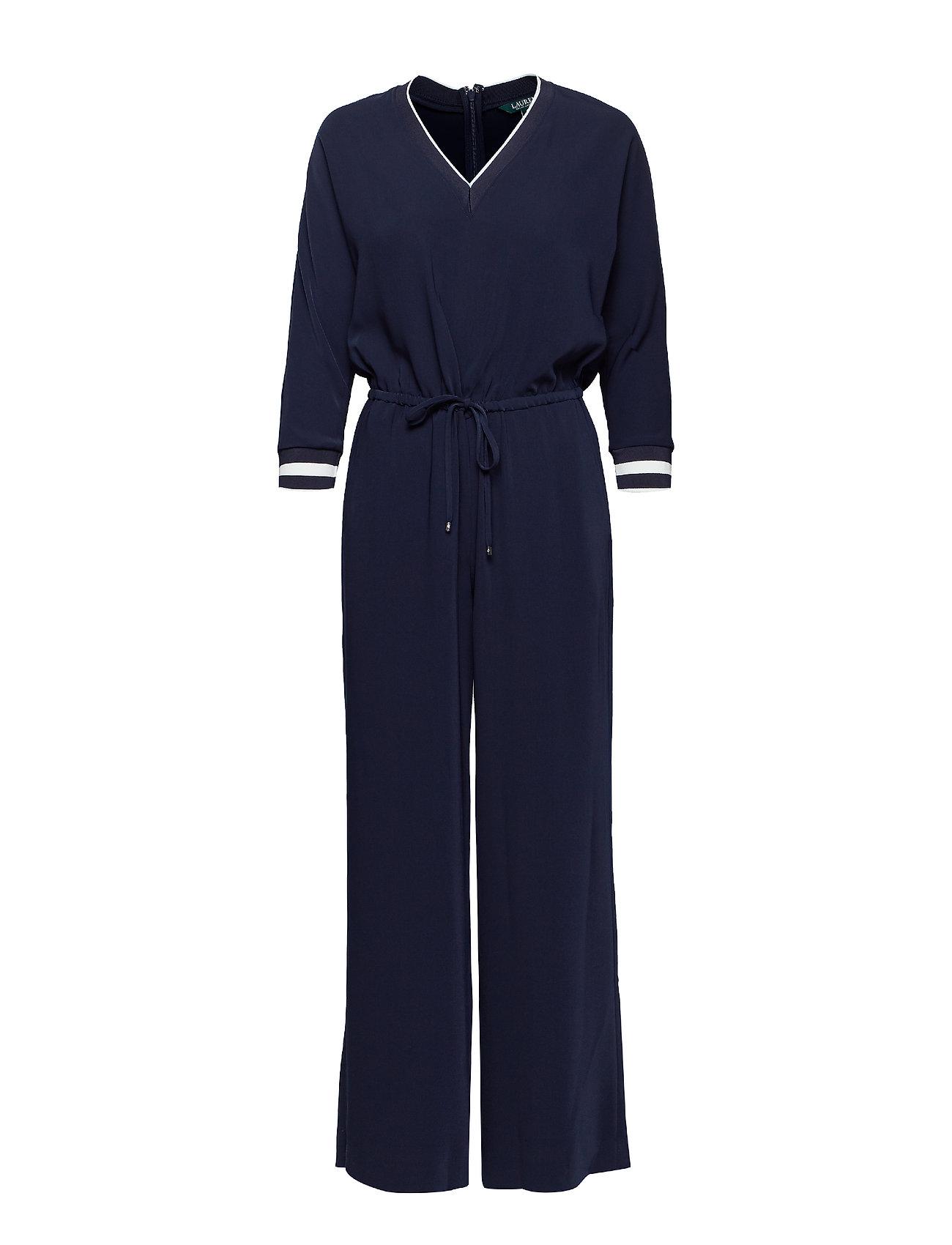 Lauren Ralph Lauren Twill Dolman-Sleeve Jumpsuit