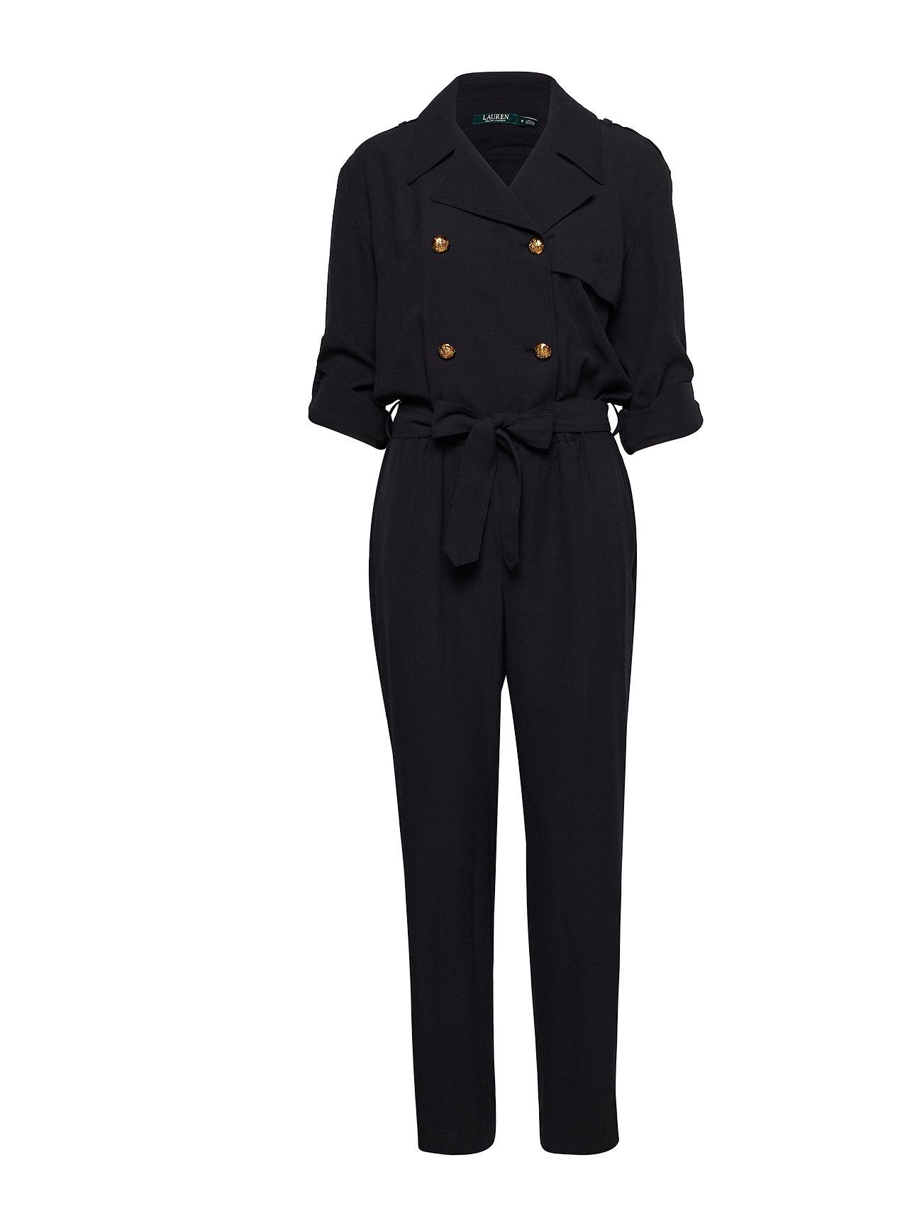 Lauren Ralph Lauren Trench Jumpsuit - POLO BLACK