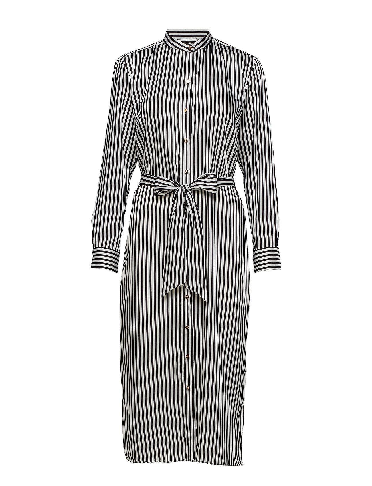 Lauren Ralph Lauren Striped Twill Shirtdress - SILK WHITE/POLO B