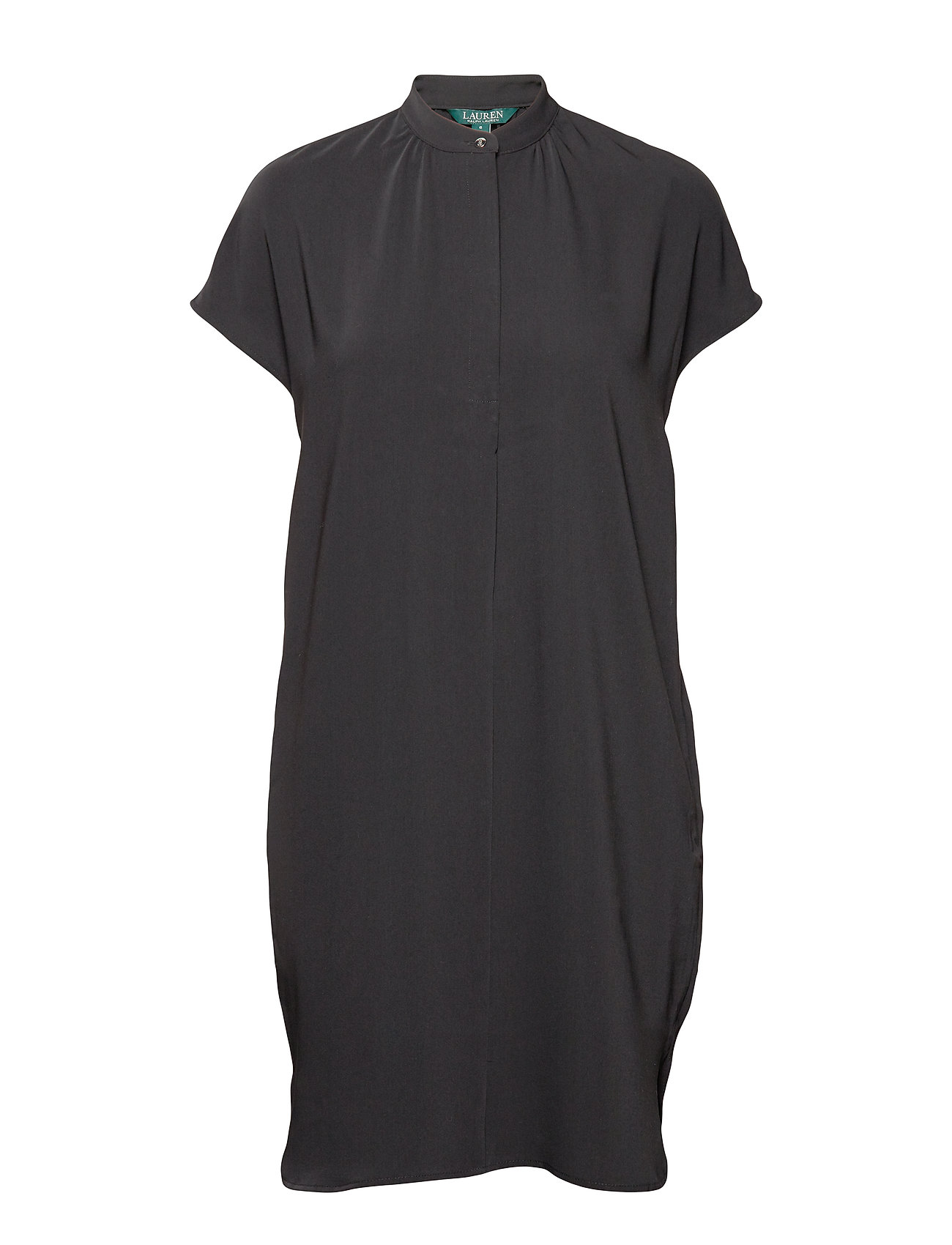 Lauren Ralph Lauren Crepe Shift Dress - POLO BLACK