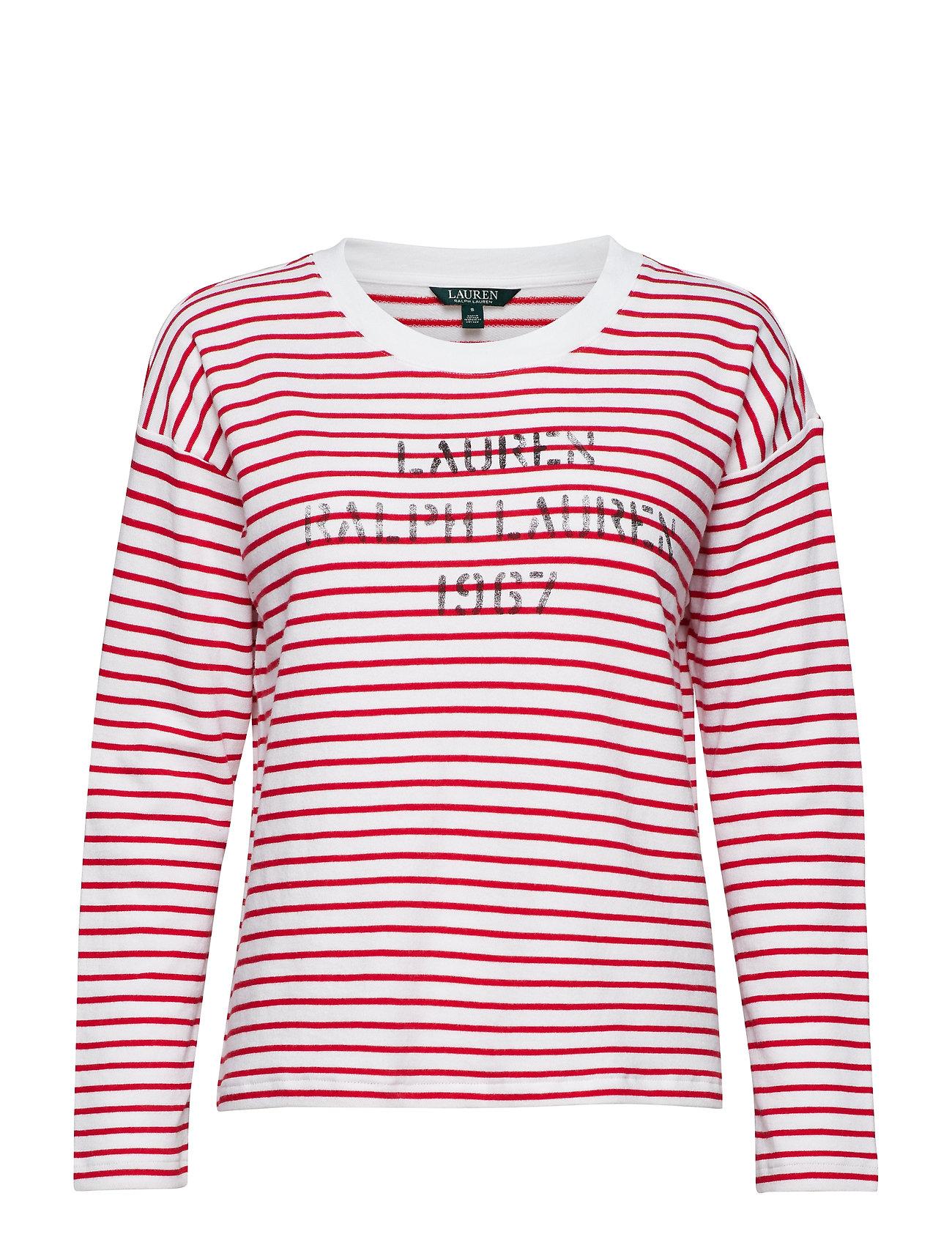 13c24e694f3 Kylene-long Sleeve-knit (Silk White lipsti) (79 €) - Lauren Ralph ...