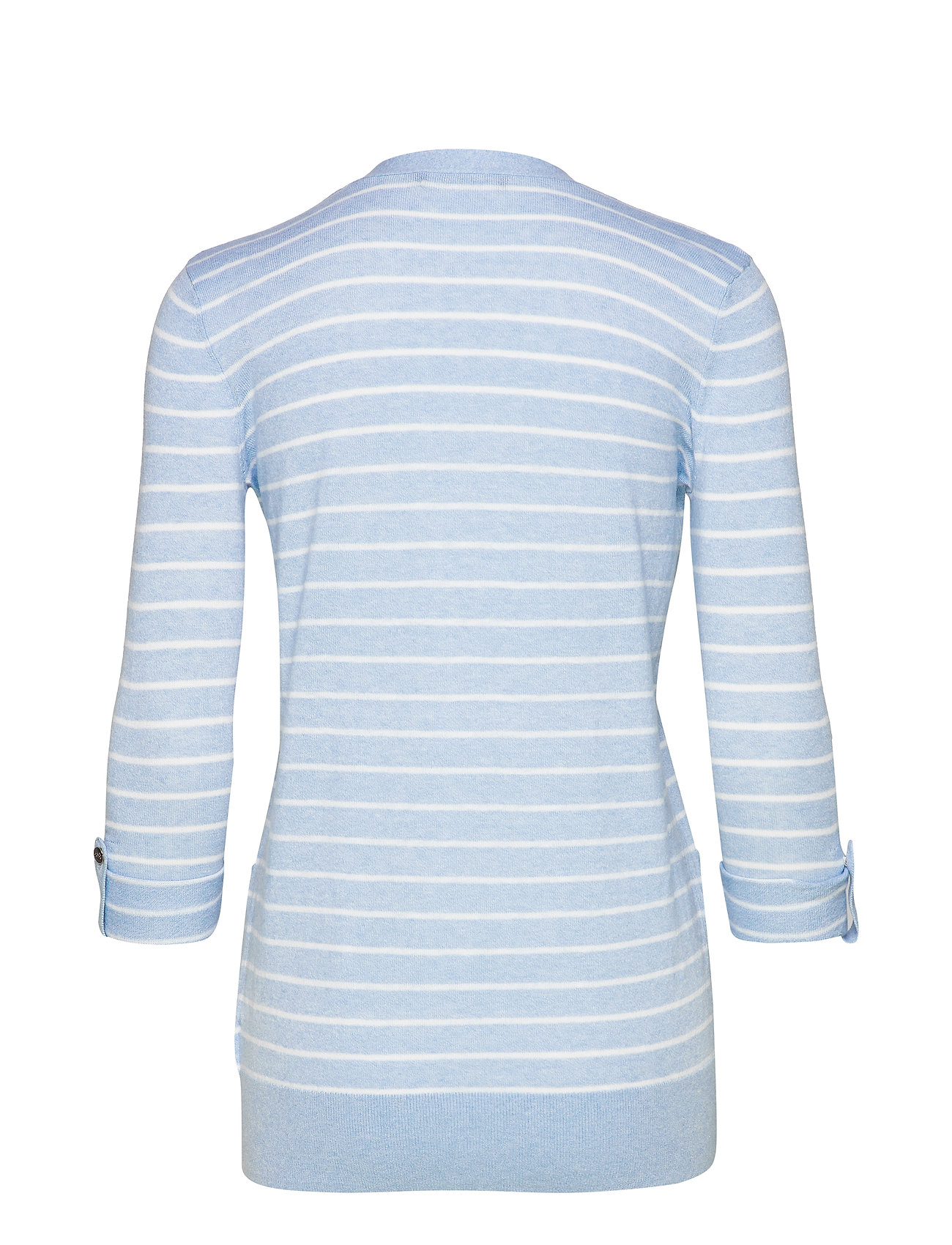 Striped Cardiganenglish Ralph blend Cotton silkLauren Blue yfgb67
