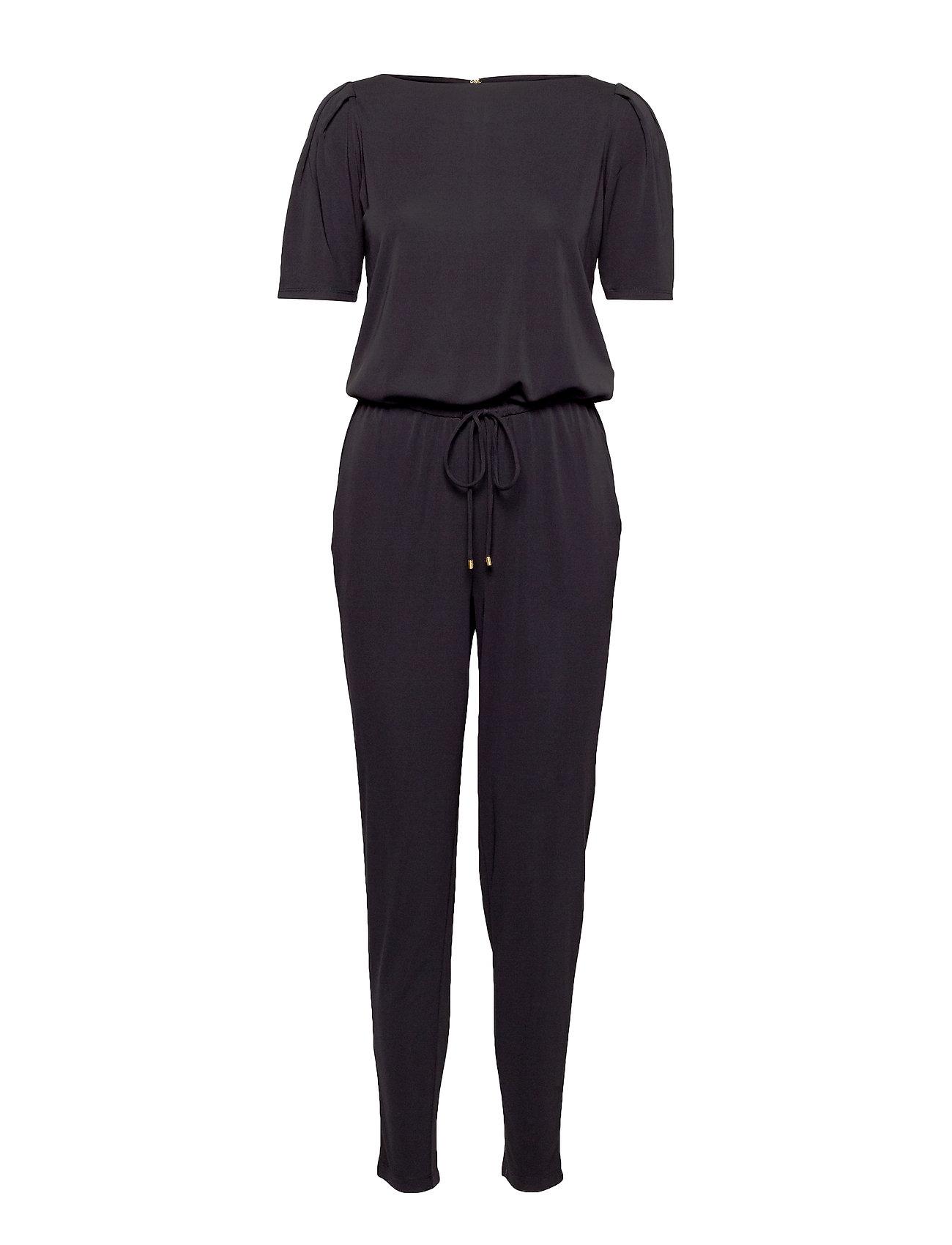 Lauren Ralph Lauren Puff Sleeve Jersey Jumpsuit Jumpsuits