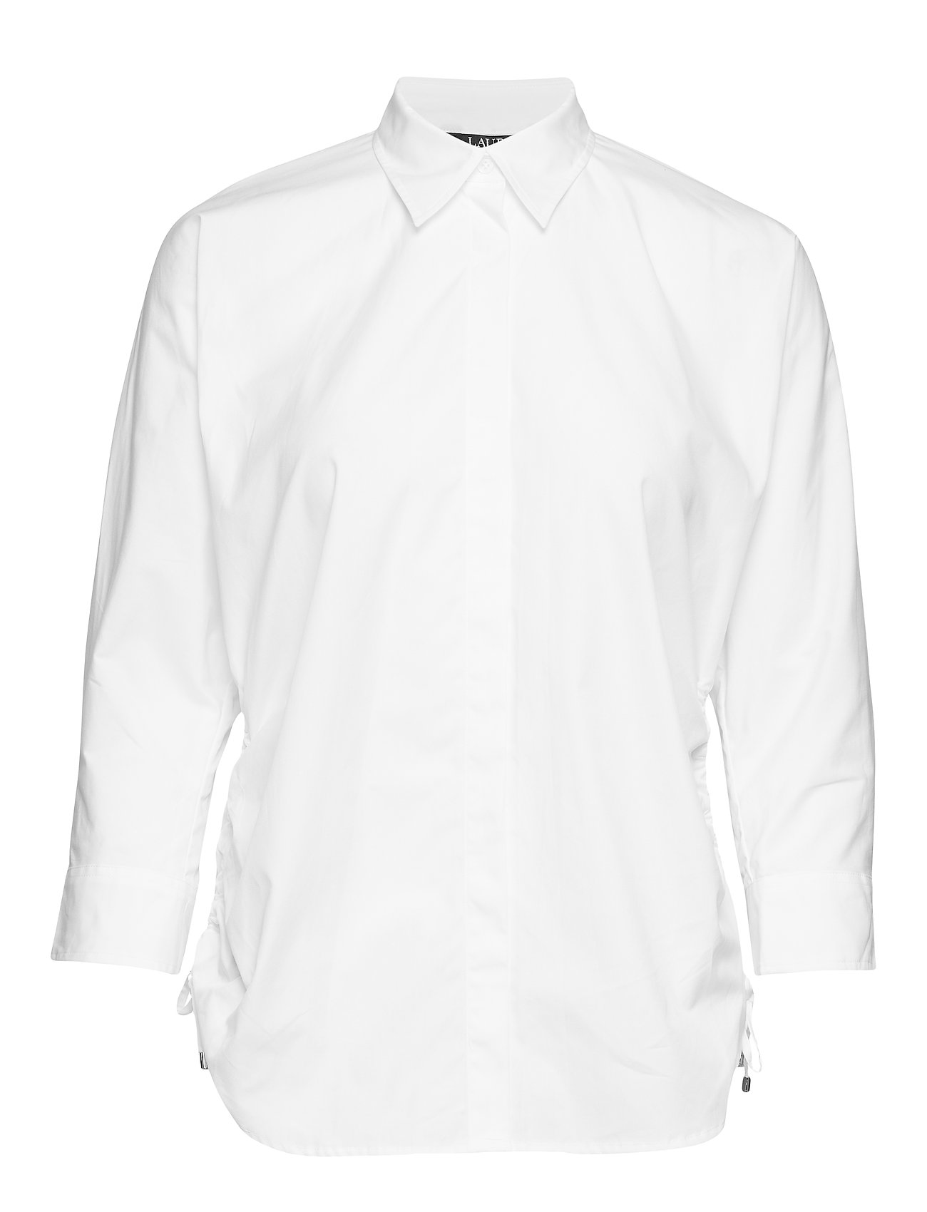 Lauren Ralph Lauren Side-Tie Cotton Button-Down Shirt